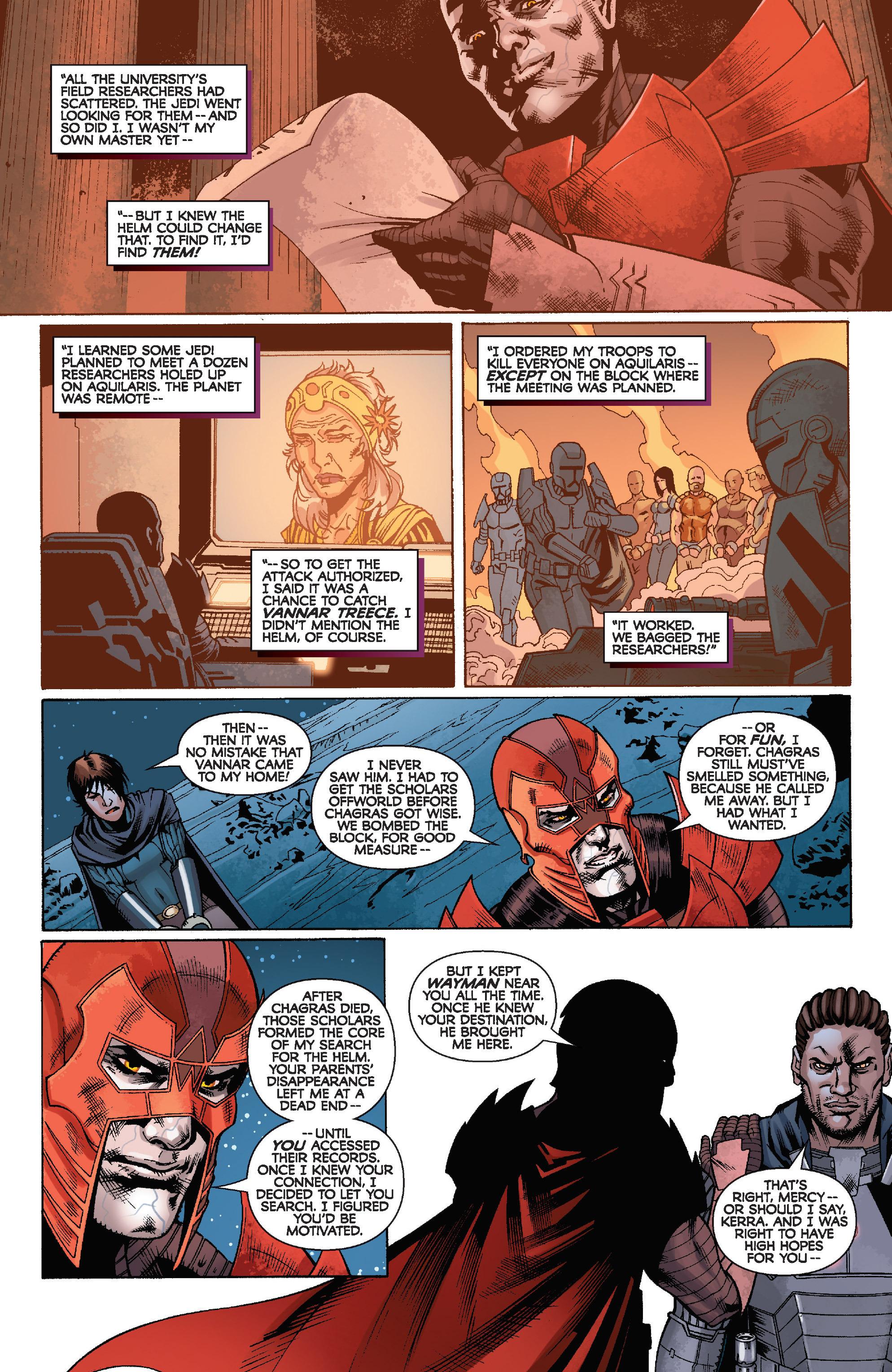 Read online Star Wars: Knight Errant - Escape comic -  Issue #4 - 6