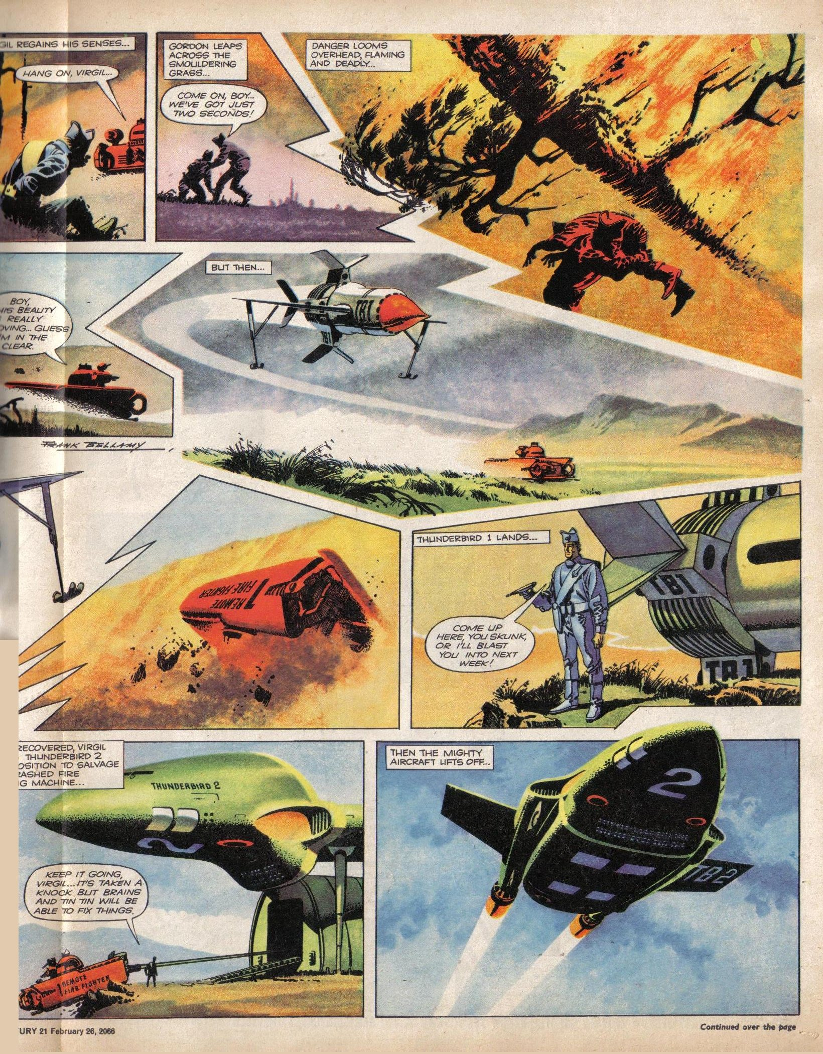 Read online TV Century 21 (TV 21) comic -  Issue #58 - 12