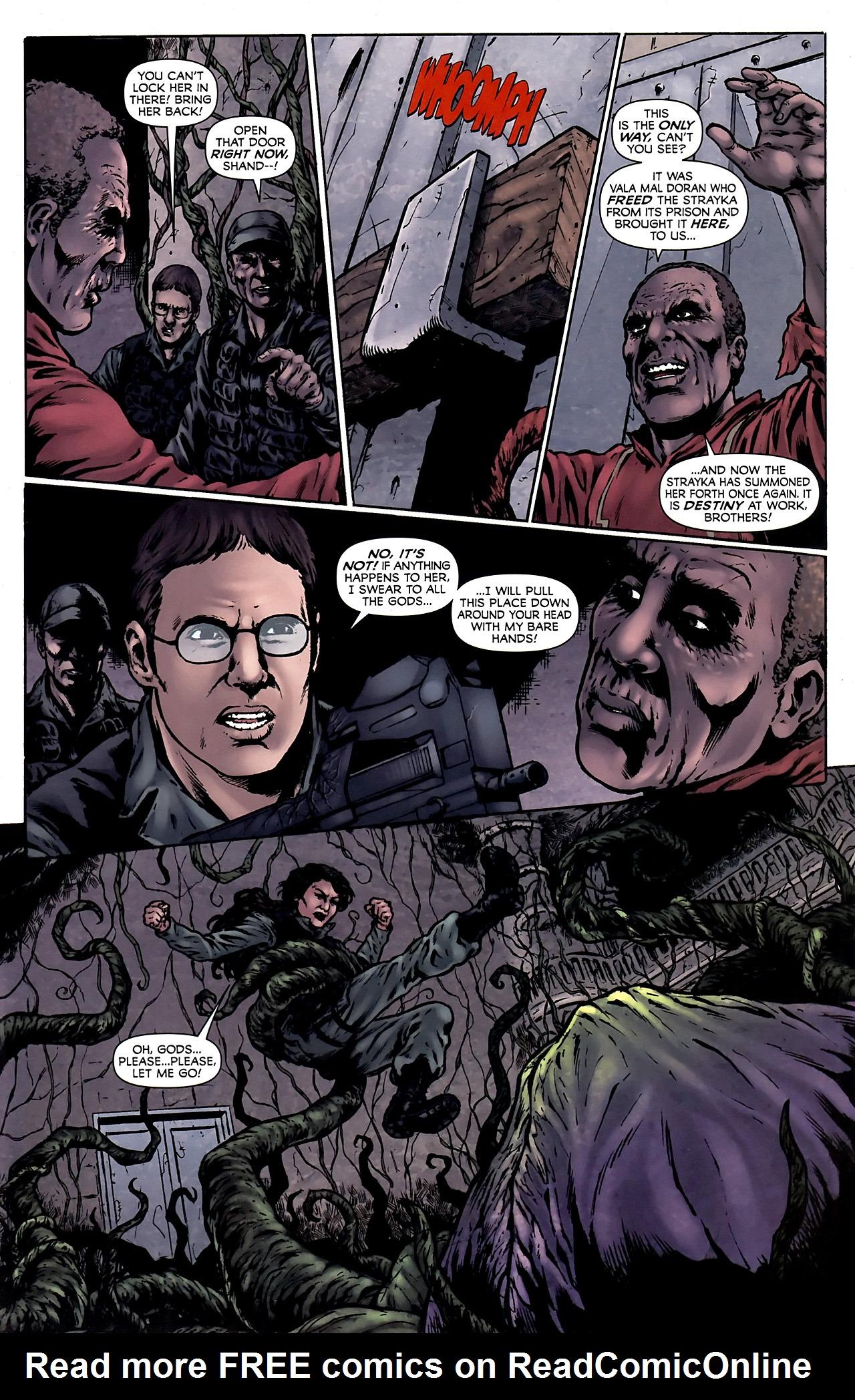 Read online Stargate Vala Mal Doran comic -  Issue #4 - 16