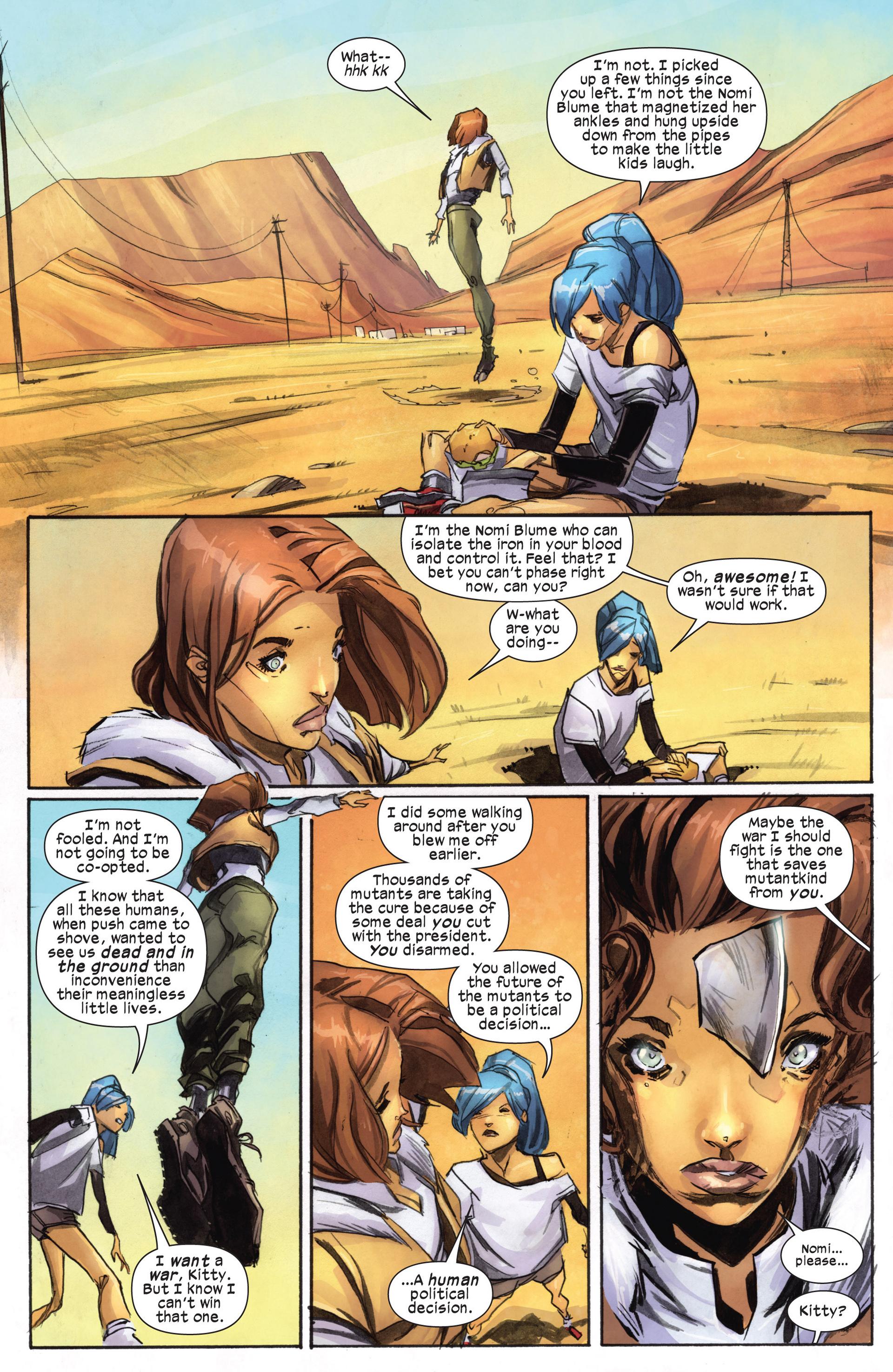 Read online Ultimate Comics X-Men comic -  Issue #18.1 - 16
