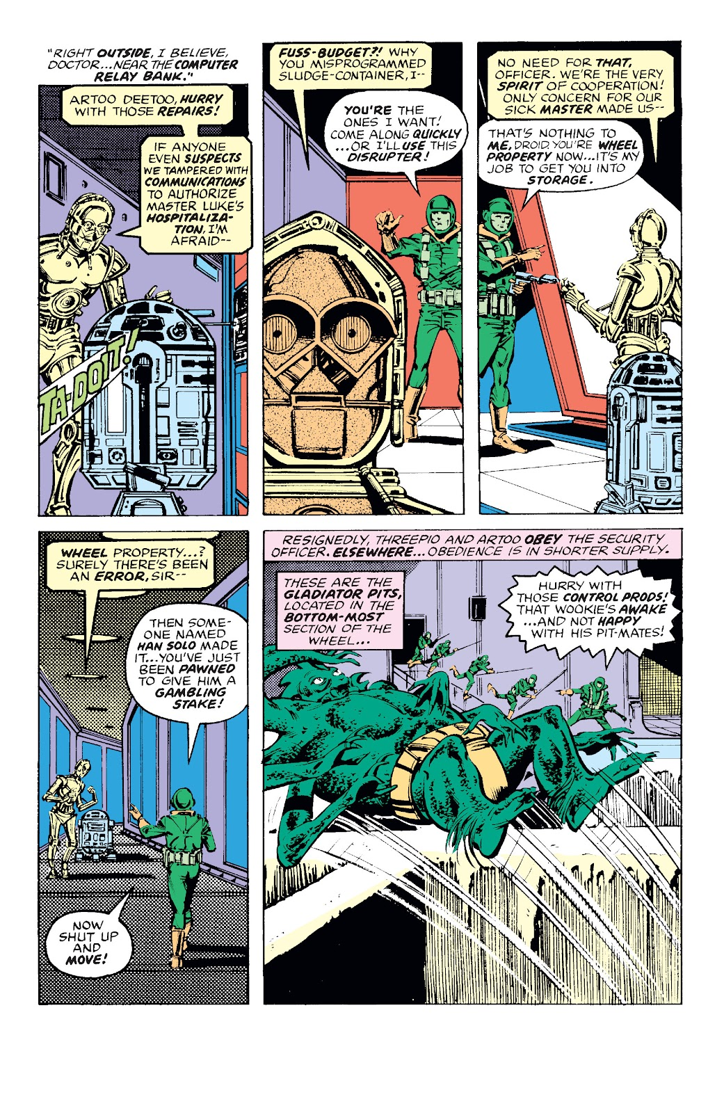 Read online Star Wars Legends: The Original Marvel Years - Epic Collection comic -  Issue # TPB 1 (Part 4) - 47