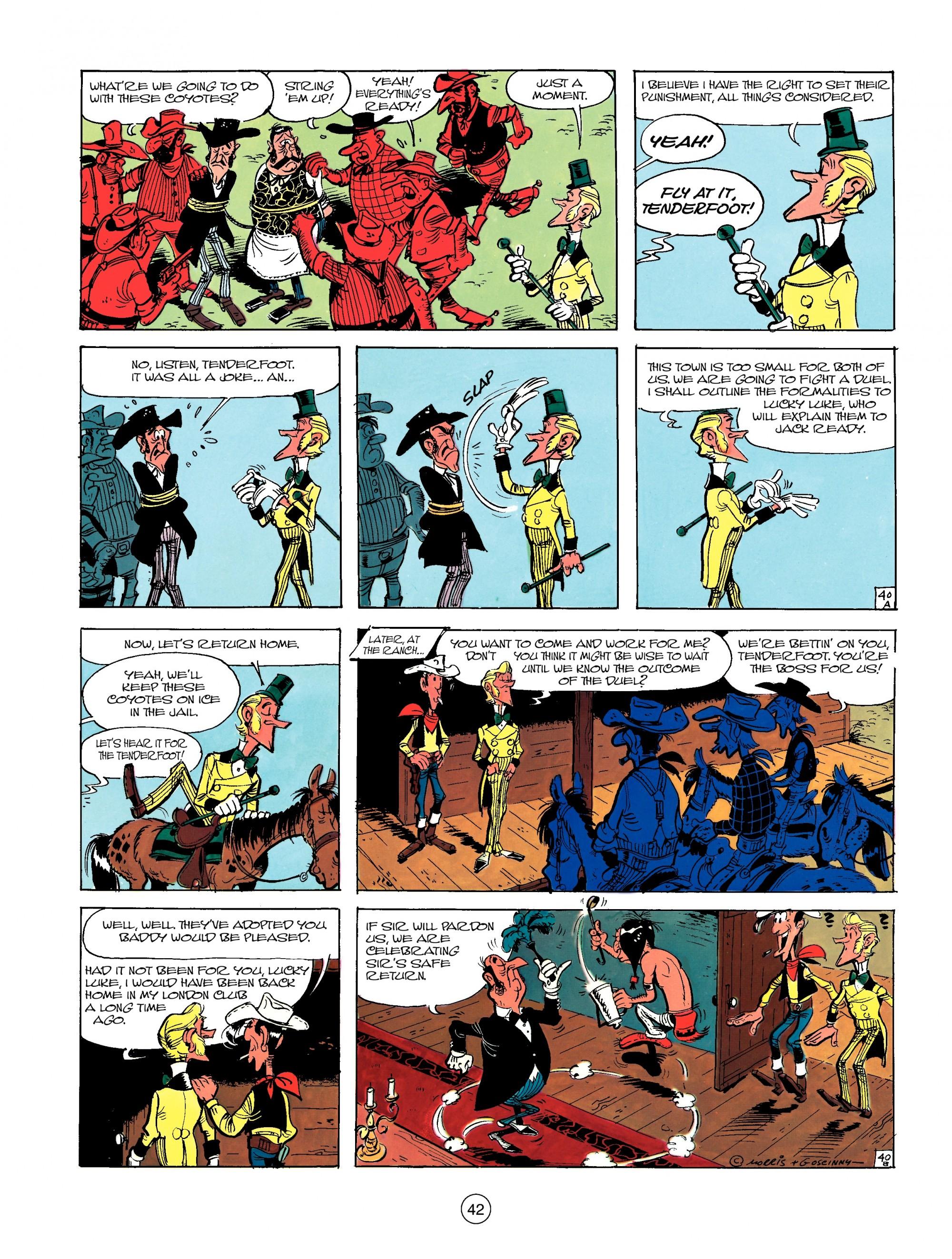 Read online A Lucky Luke Adventure comic -  Issue #13 - 42