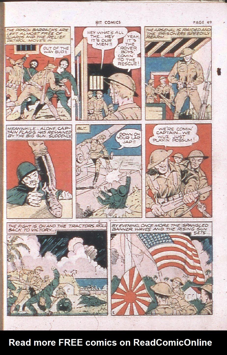 Read online Hit Comics comic -  Issue #24 - 51