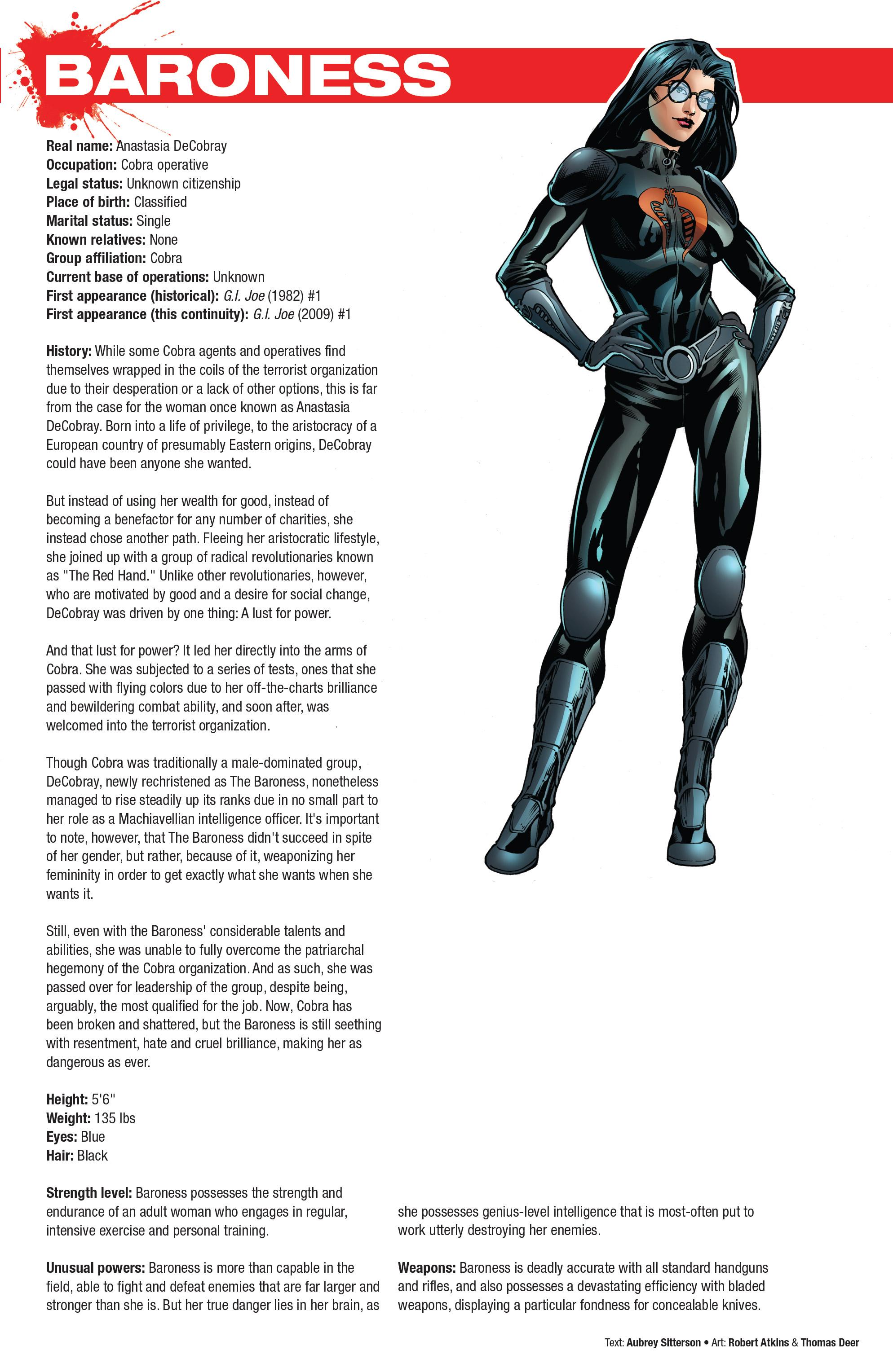Read online Hasbro Heroes Sourcebook comic -  Issue #1 - 17