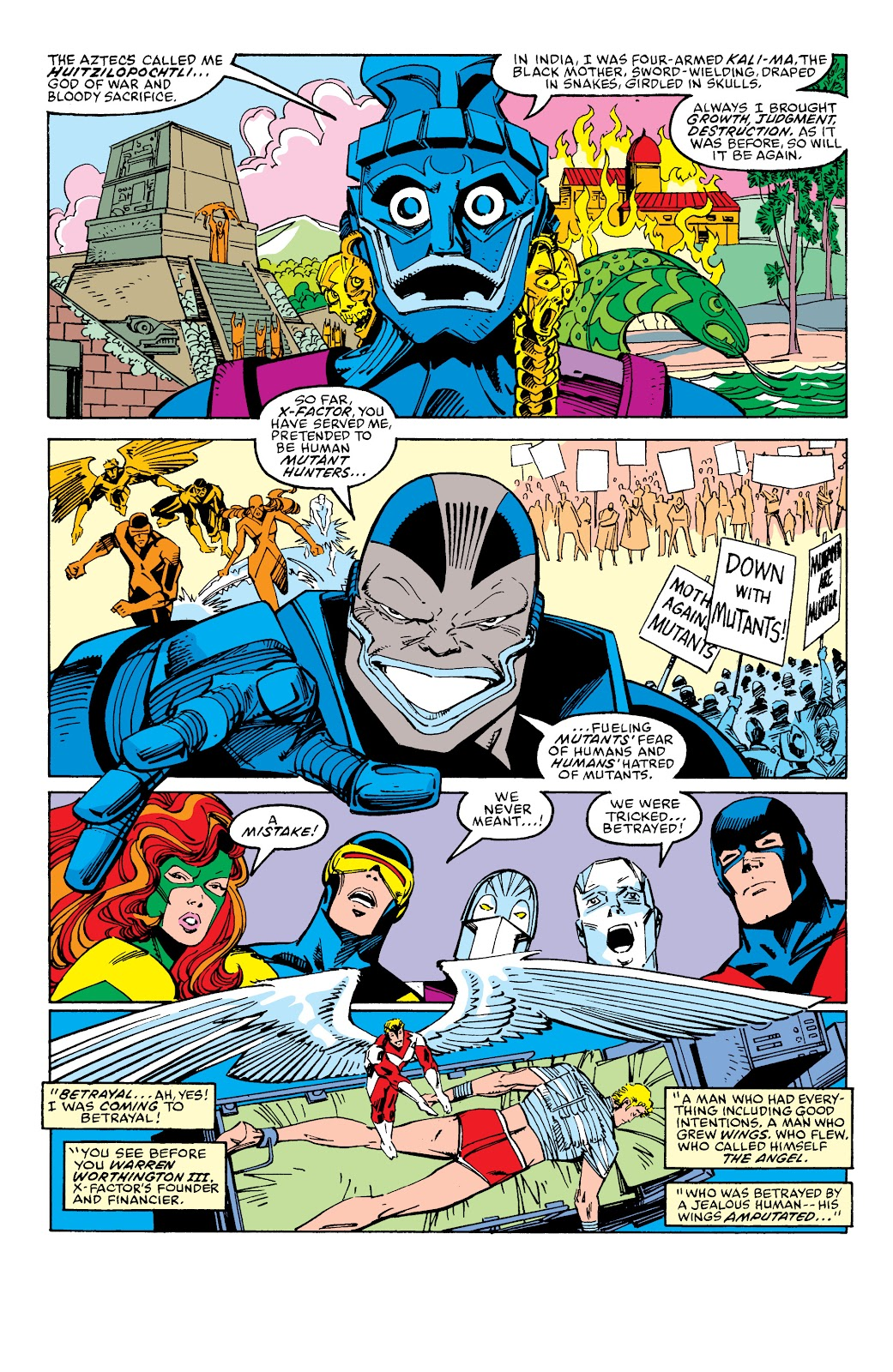 Read online X-Men Milestones: Fall of the Mutants comic -  Issue # TPB (Part 2) - 86