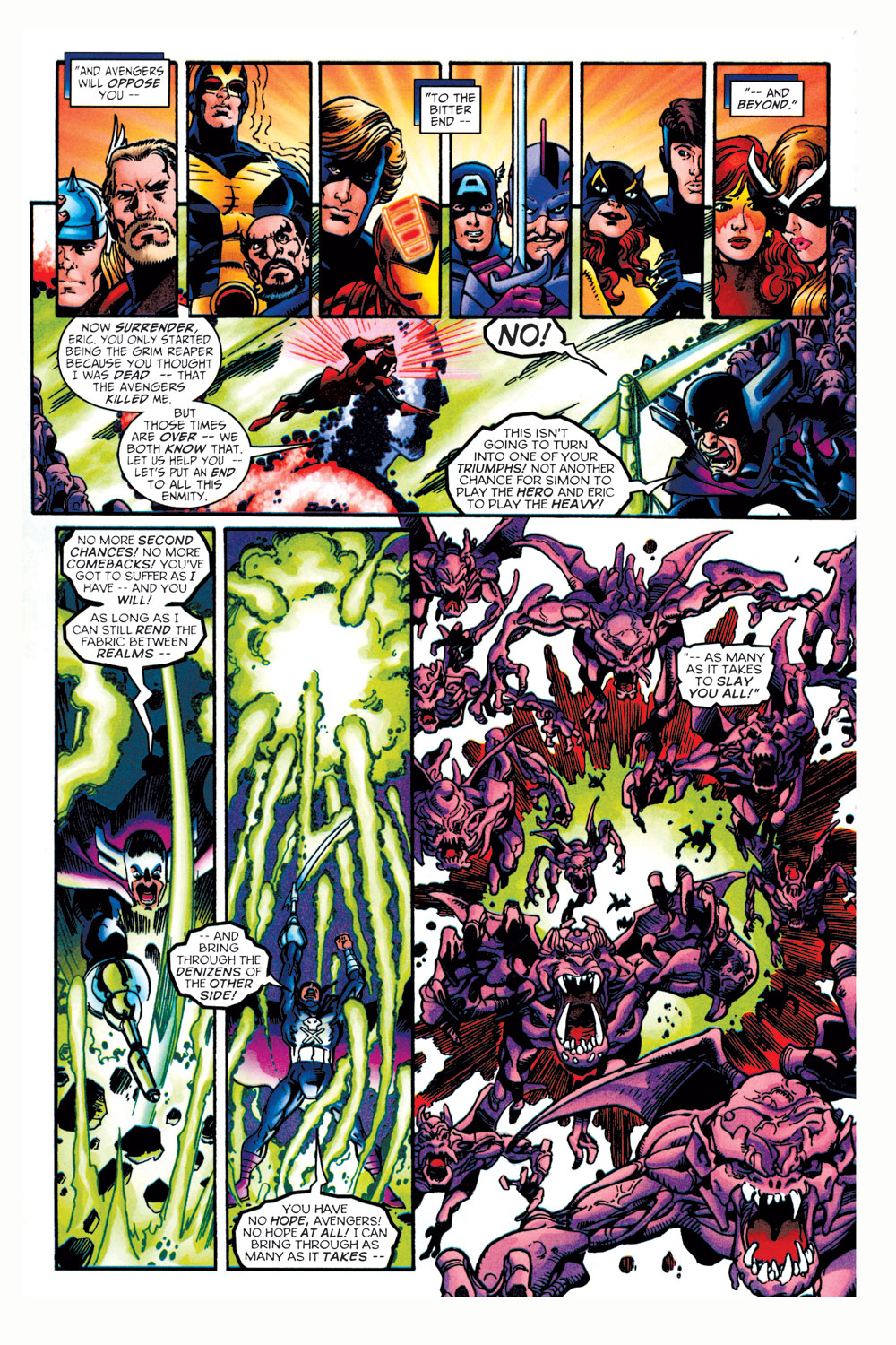 Read online Avengers (1998) comic -  Issue #11 - 14