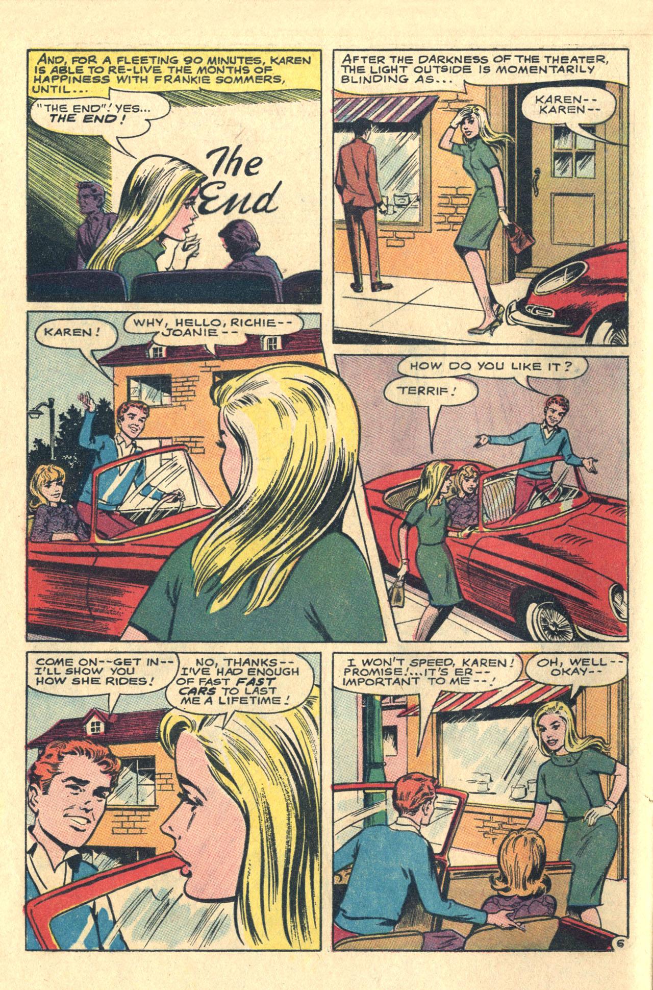 Read online Secret Hearts comic -  Issue #116 - 24