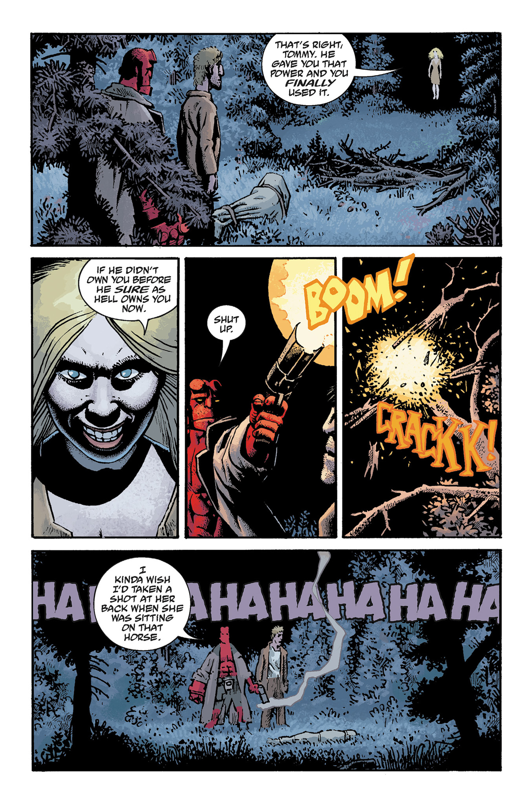 Read online Hellboy: The Crooked Man and Others comic -  Issue # TPB - 48