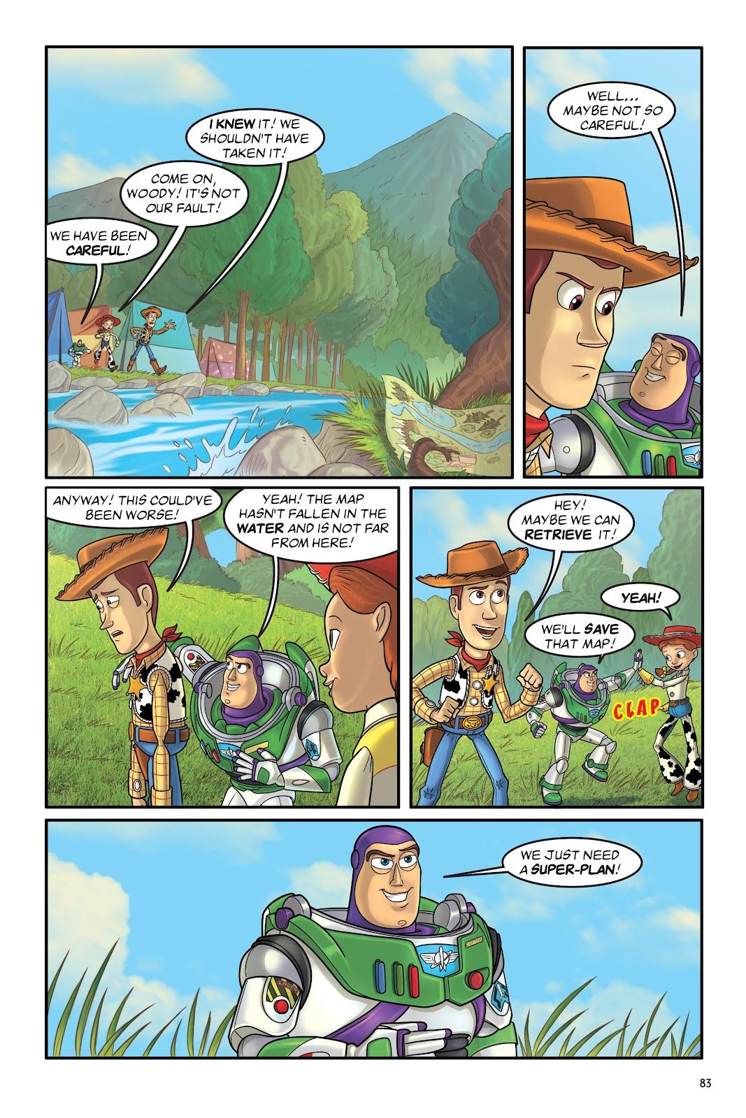 Read online DISNEY·PIXAR Toy Story Adventures comic -  Issue # TPB 1 (Part 1) - 83