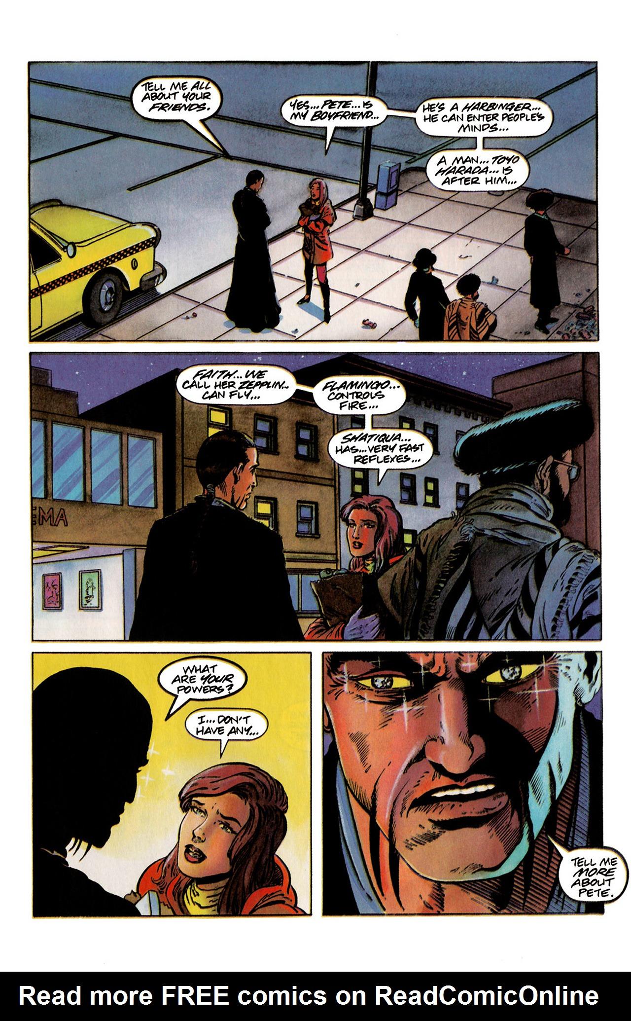 Read online Harbinger (1992) comic -  Issue #19 - 15