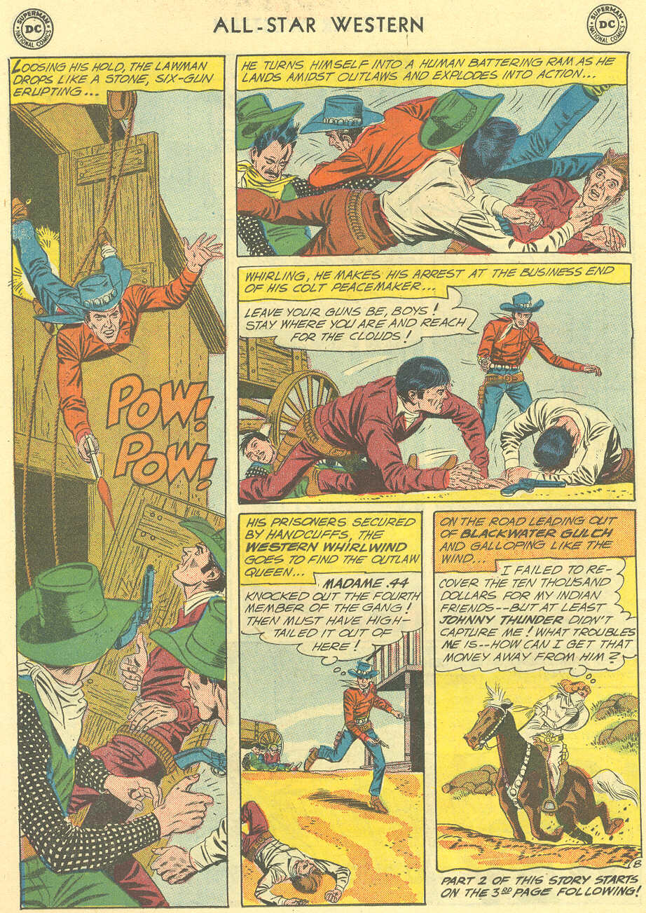 Read online All-Star Western (1951) comic -  Issue #119 - 10