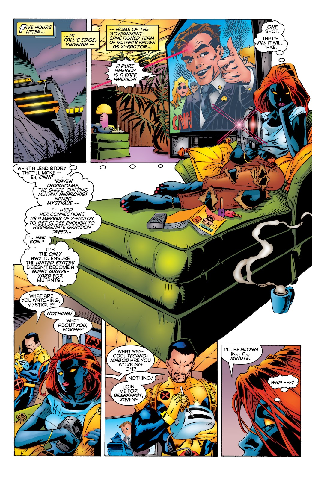 Uncanny X-Men (1963) issue 339 - Page 6