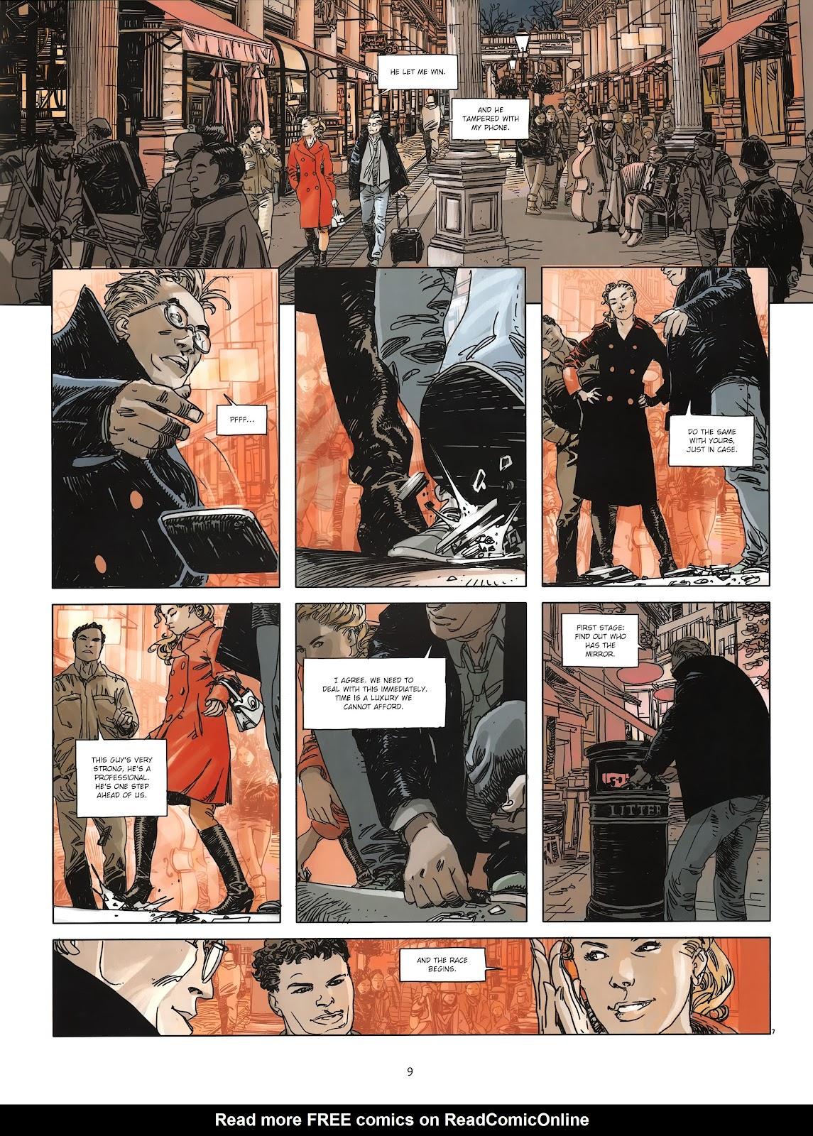 Read online Cutting Edge (2013) comic -  Issue #3 - 9