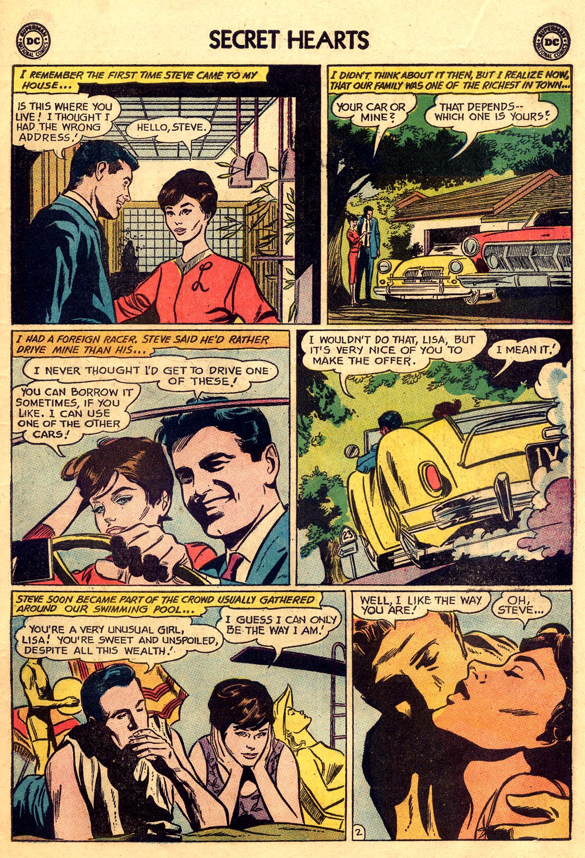 Read online Secret Hearts comic -  Issue #92 - 11