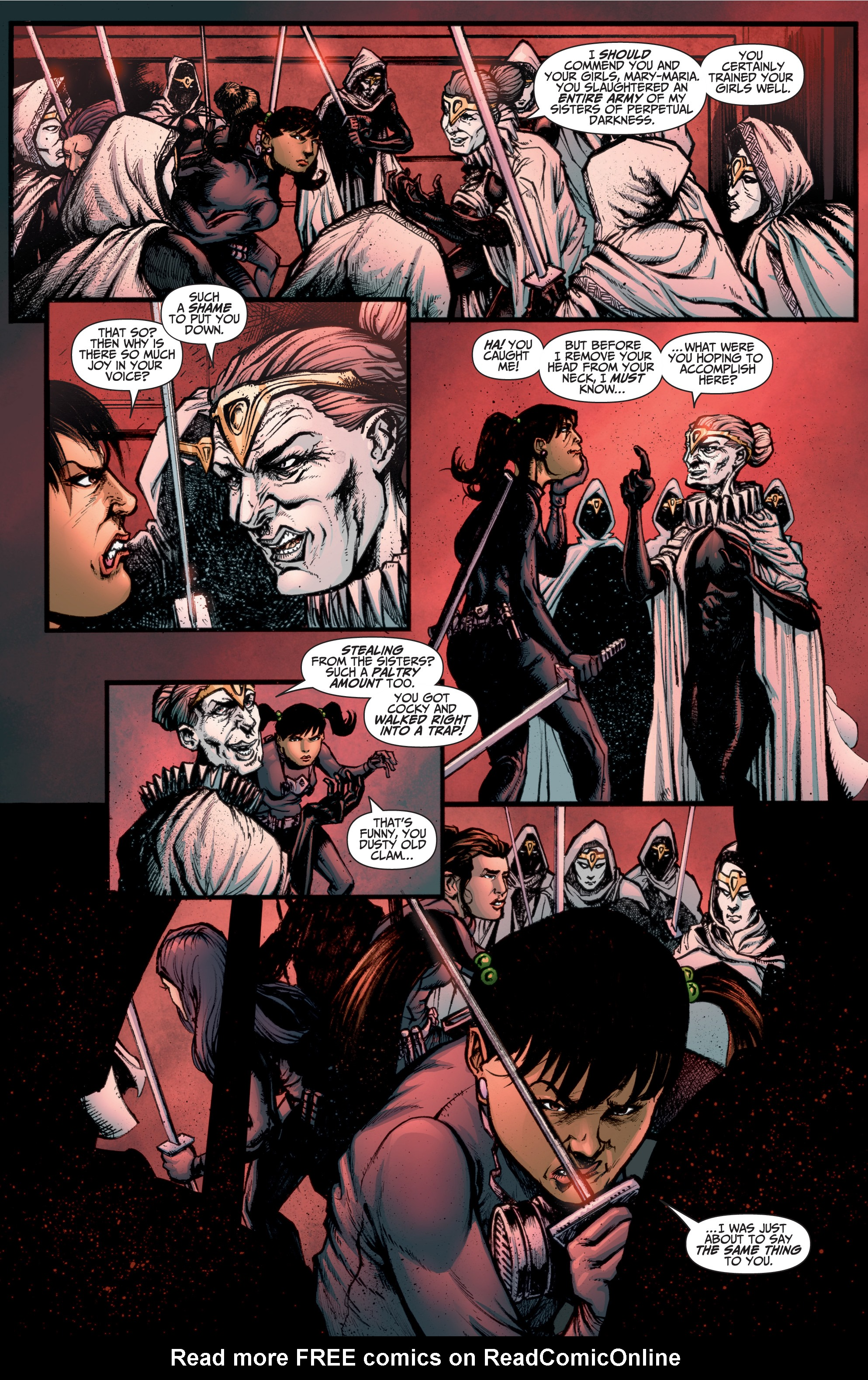 Read online A&A: The Adventures of Archer & Armstrong comic -  Issue #10 - 10