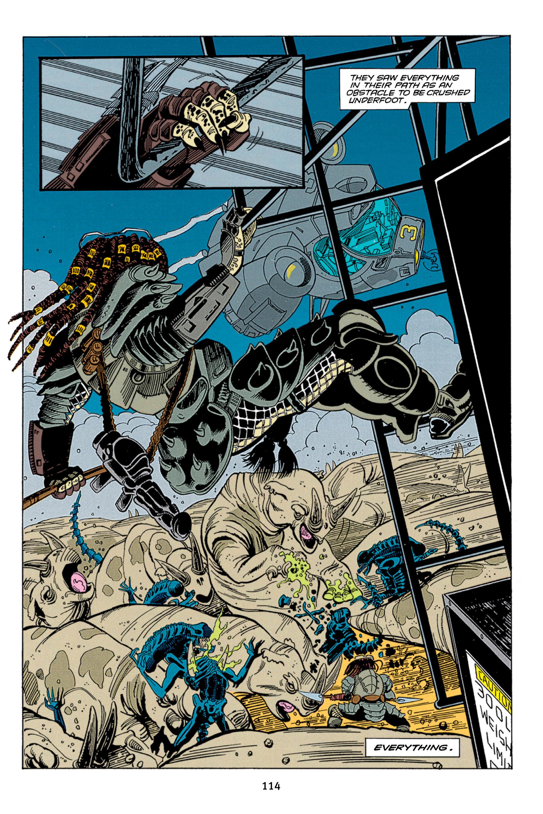 Read online Aliens vs. Predator Omnibus comic -  Issue # _TPB 1 Part 2 - 13