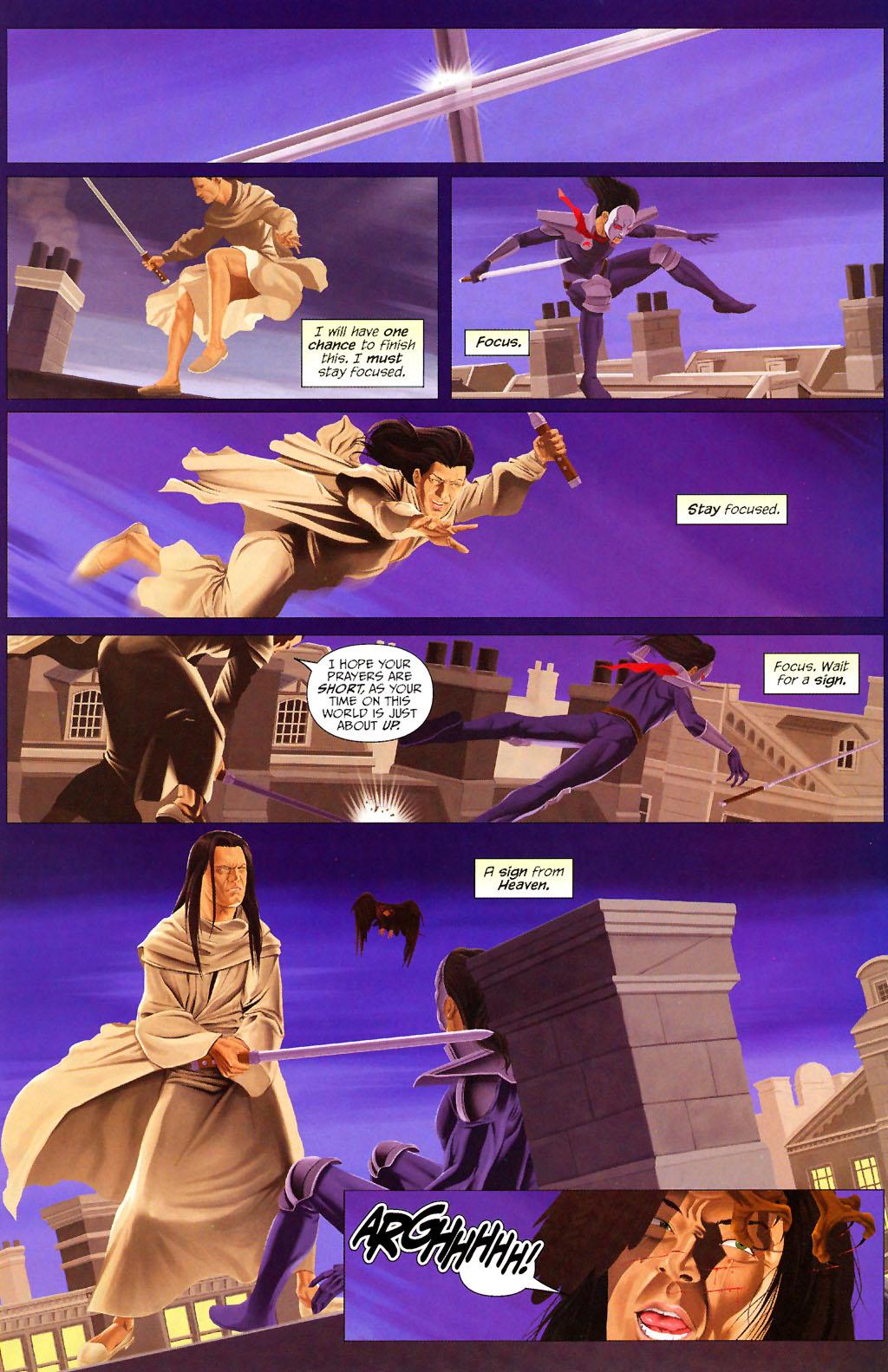 Read online ShadowHawk (2005) comic -  Issue #13 - 17