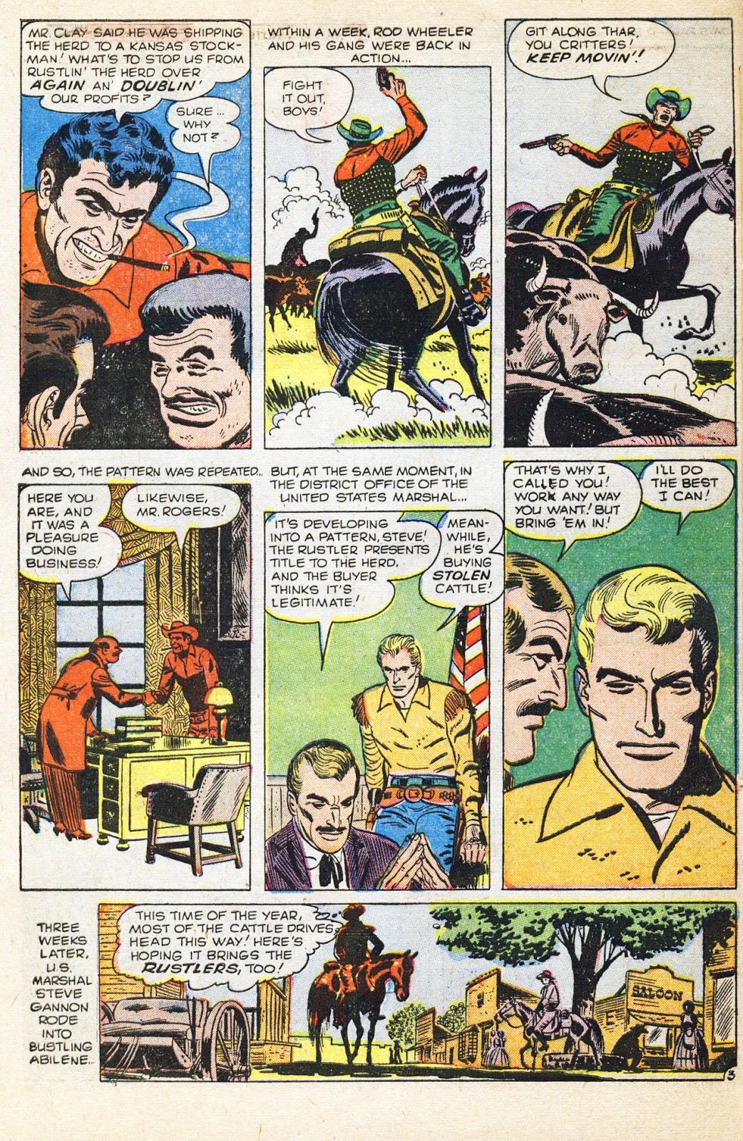 Gunsmoke Western issue 38 - Page 31