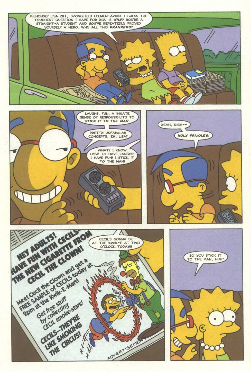 Read online Simpsons Comics comic -  Issue #33 - 10