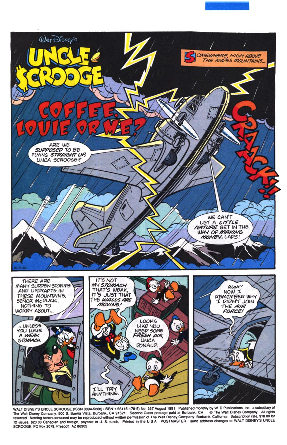 Read online Uncle Scrooge (1953) comic -  Issue #257 - 2