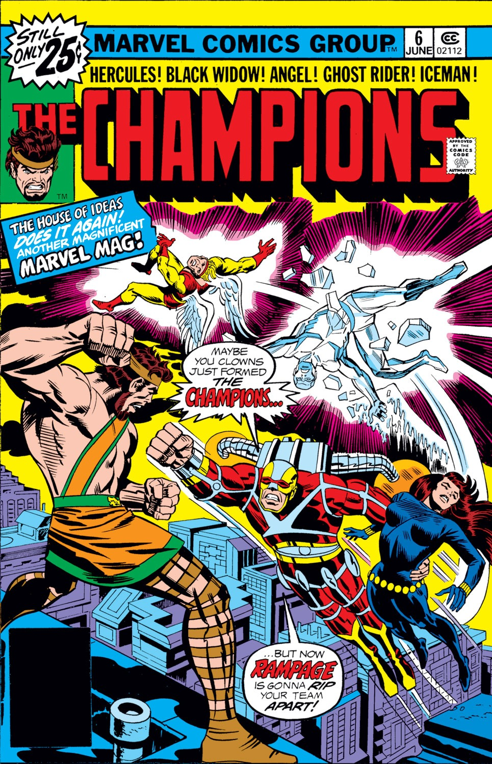 The Champions issue 6 - Page 1