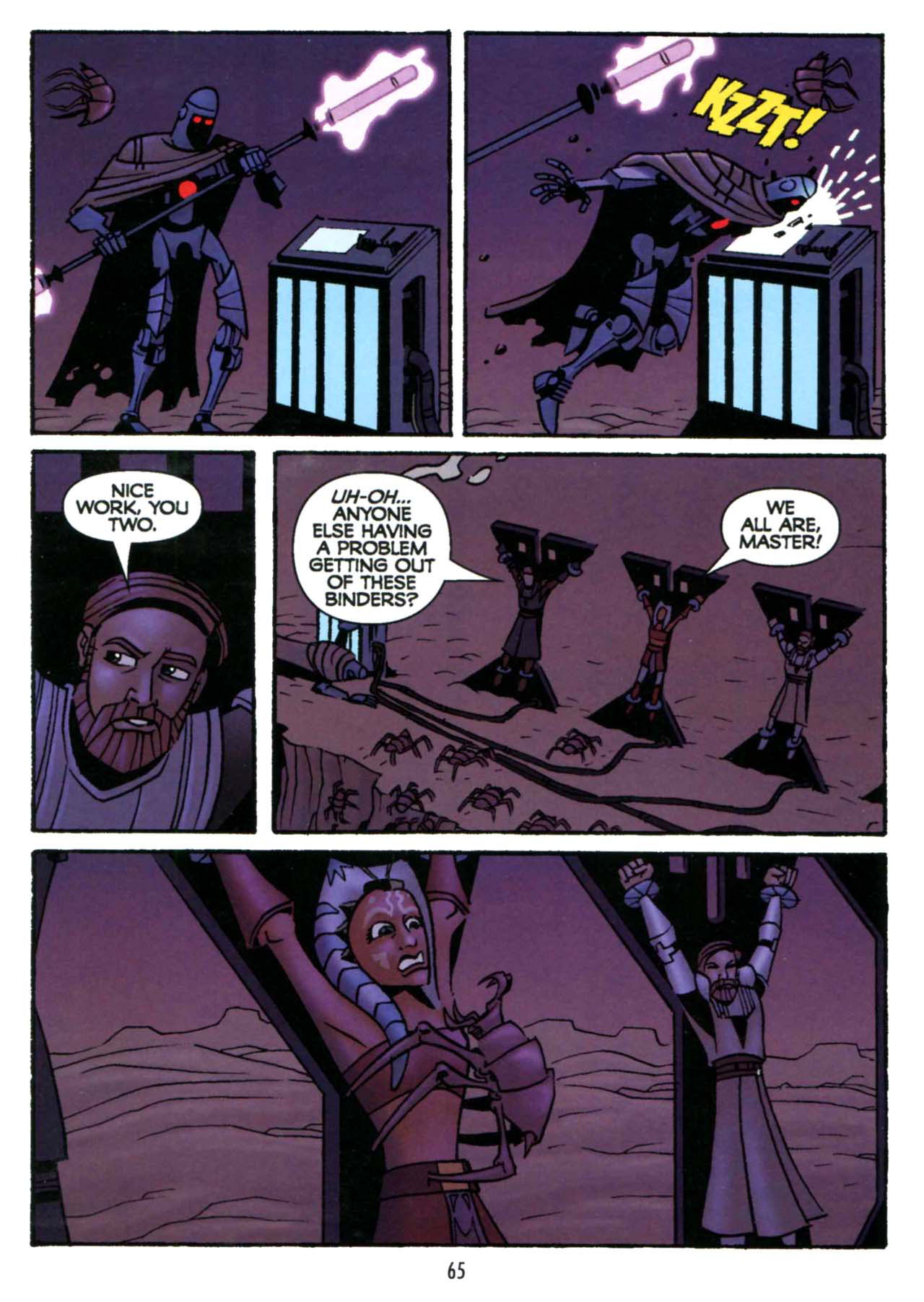 Read online Star Wars: The Clone Wars - Shipyards of Doom comic -  Issue # Full - 63