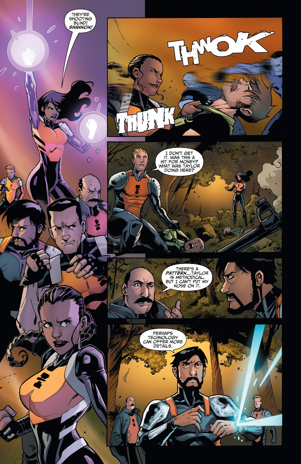 Read online Incidentals comic -  Issue #17 - 7