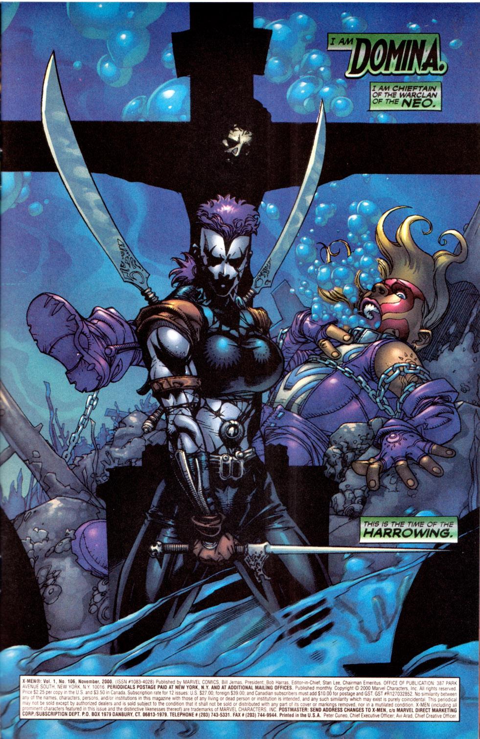 X-Men (1991) 106 Page 1