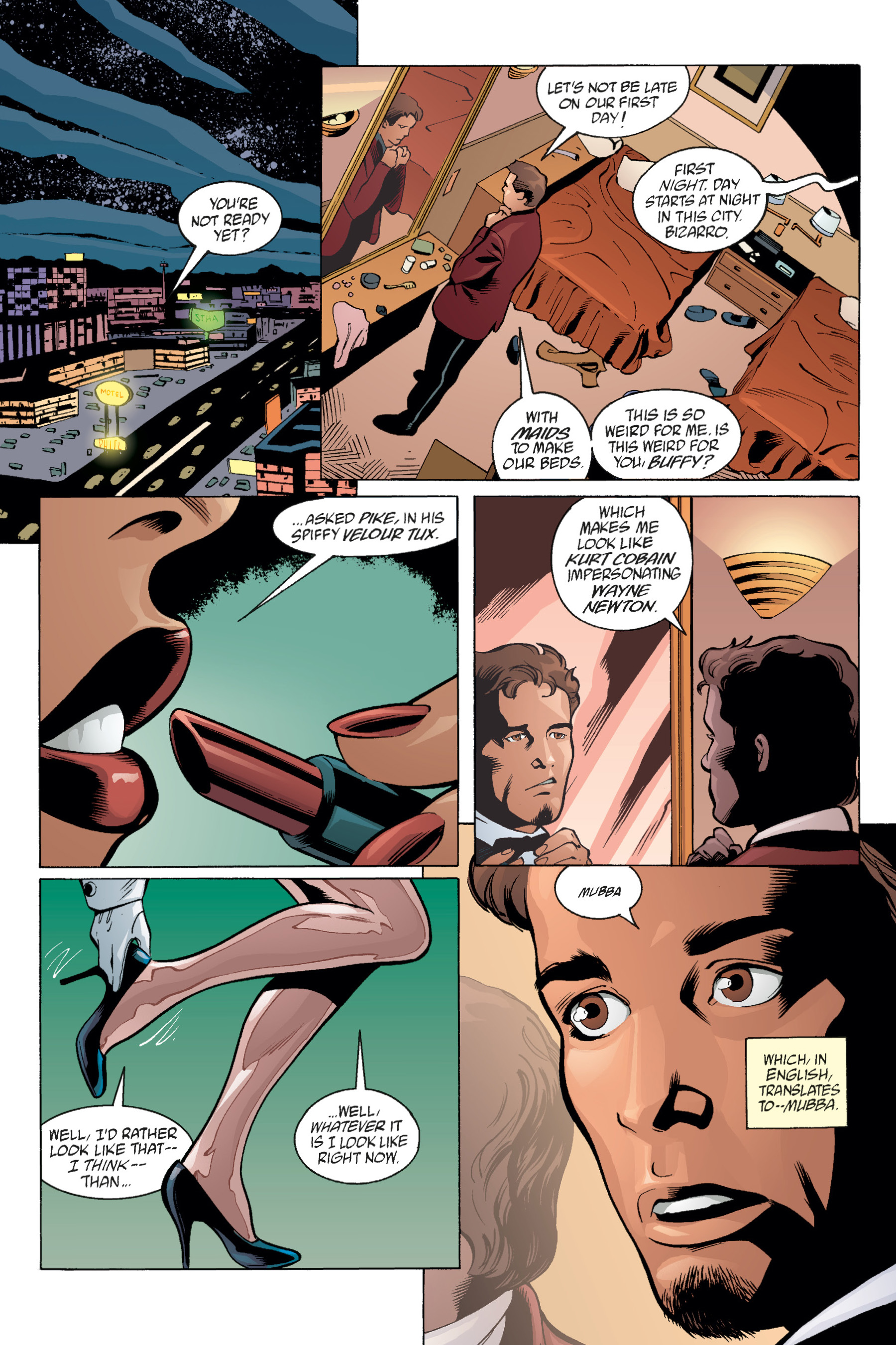 Read online Buffy the Vampire Slayer: Omnibus comic -  Issue # TPB 1 - 126