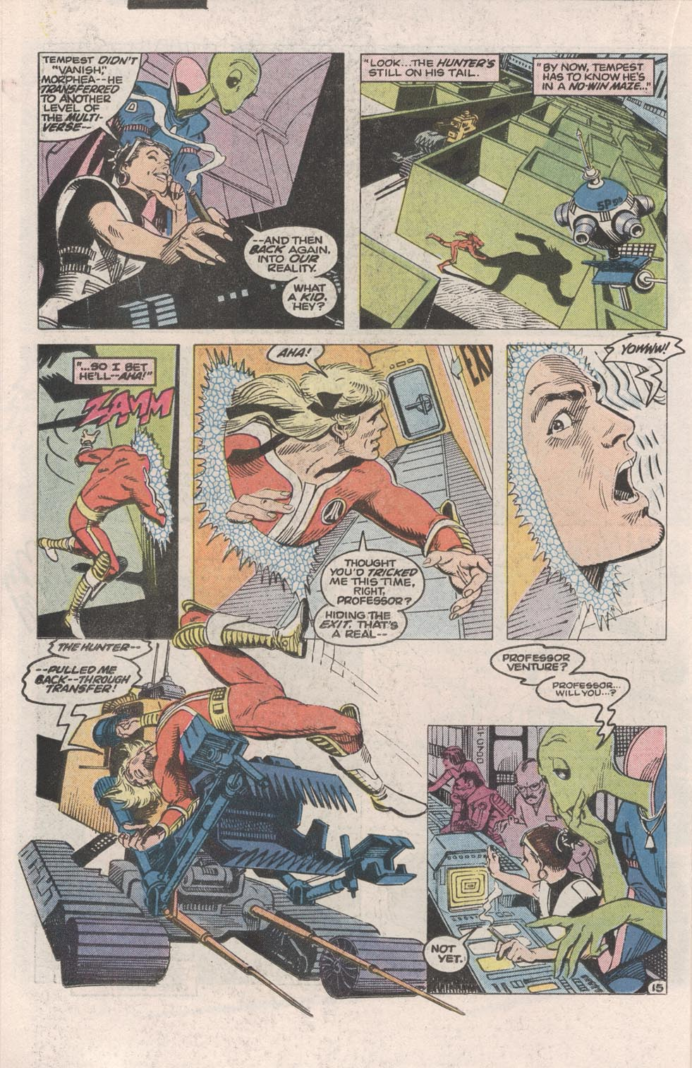 Read online Atari Force (1984) comic -  Issue #1 - 16