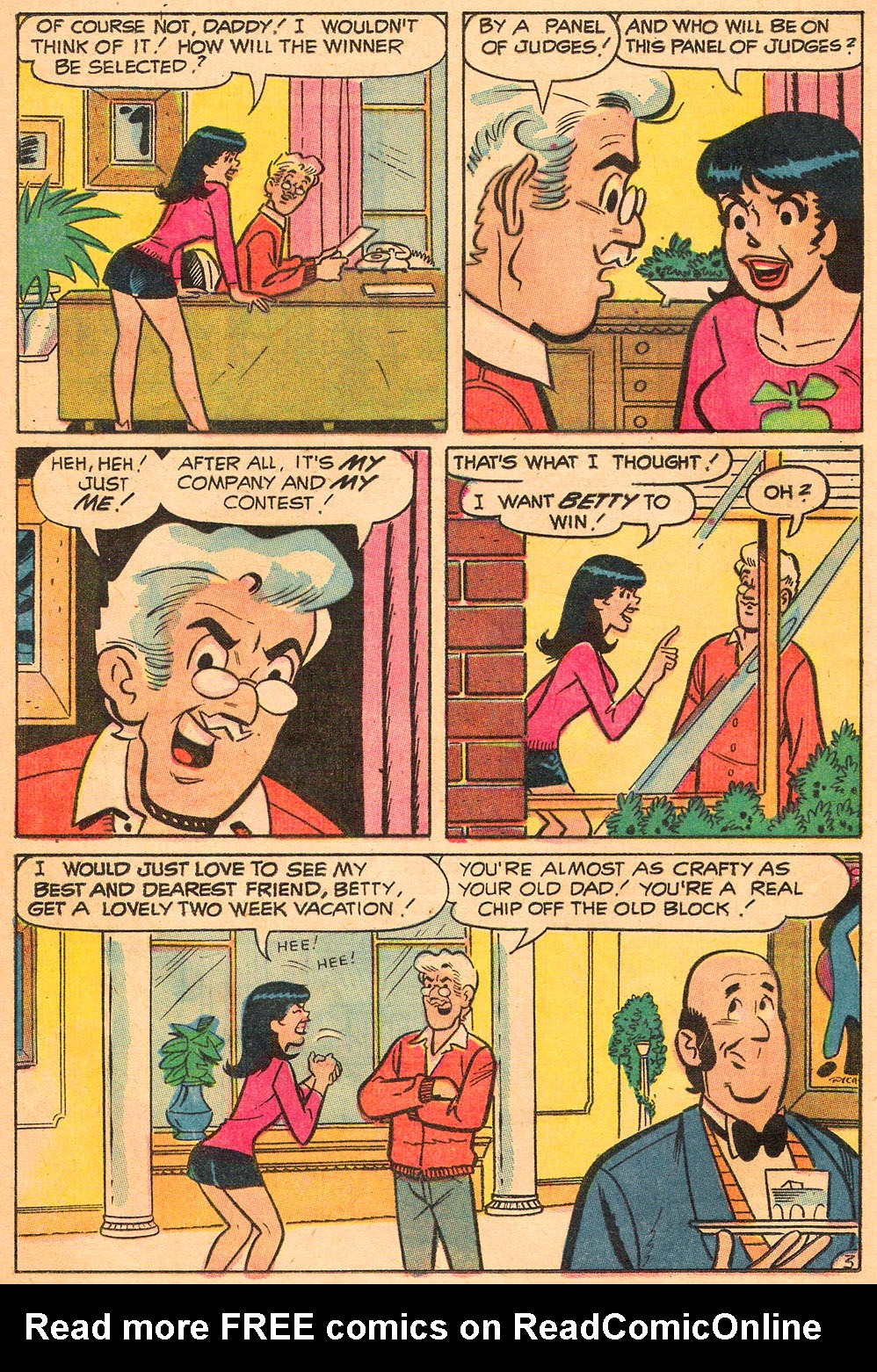 Read online Archie's Girls Betty and Veronica comic -  Issue #191 - 16