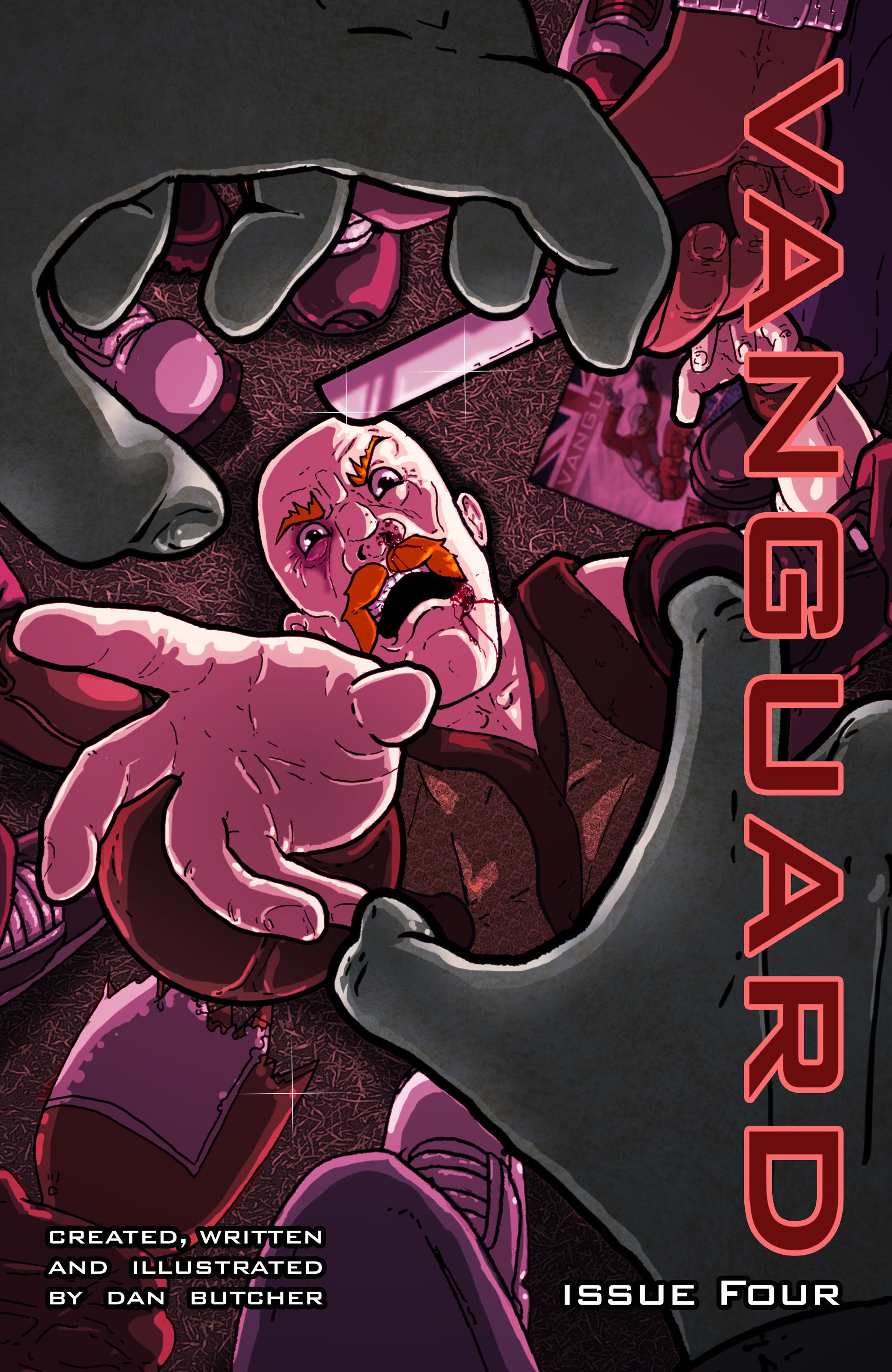 Read online Vanguard (2015) comic -  Issue #4 - 1