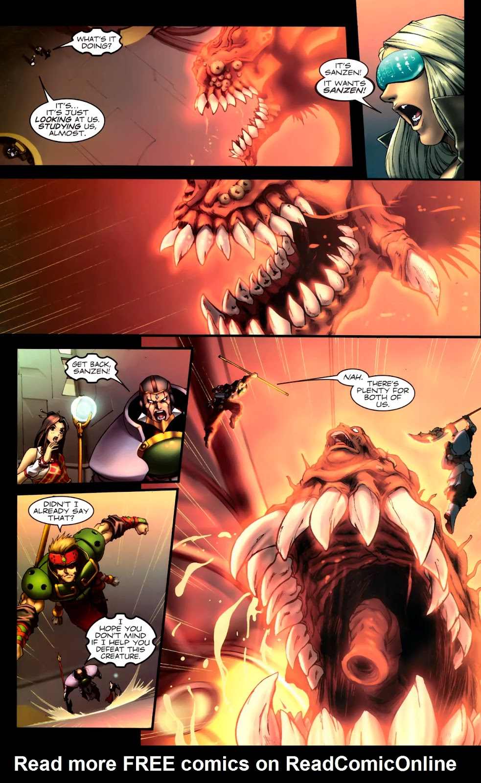 Read online Xin: Journey of the Monkey King comic -  Issue #1 - 12