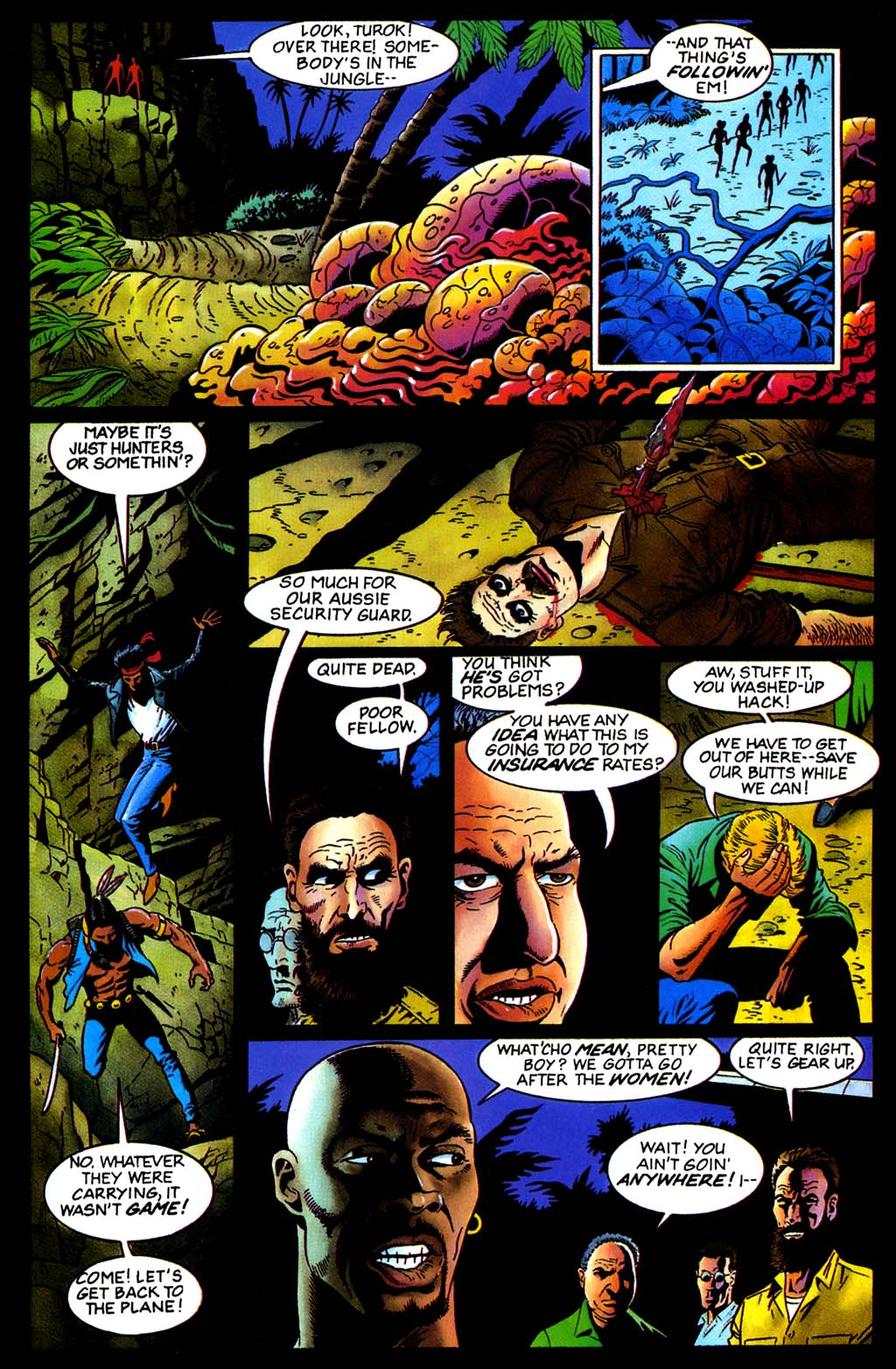 Read online Turok, Dinosaur Hunter (1993) comic -  Issue #32 - 13
