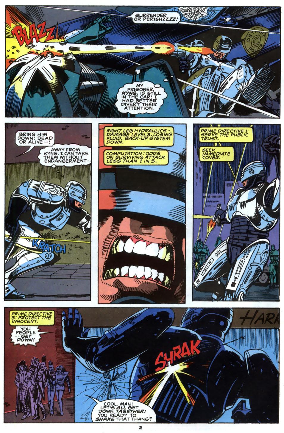 Read online Robocop (1990) comic -  Issue #2 - 3