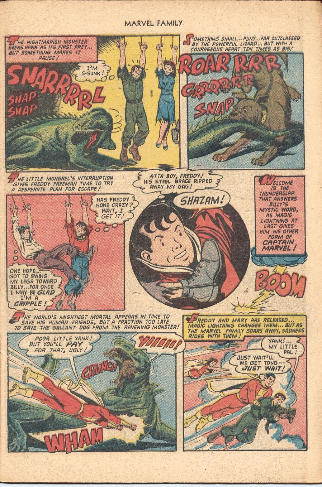 The Marvel Family issue 82 - Page 9