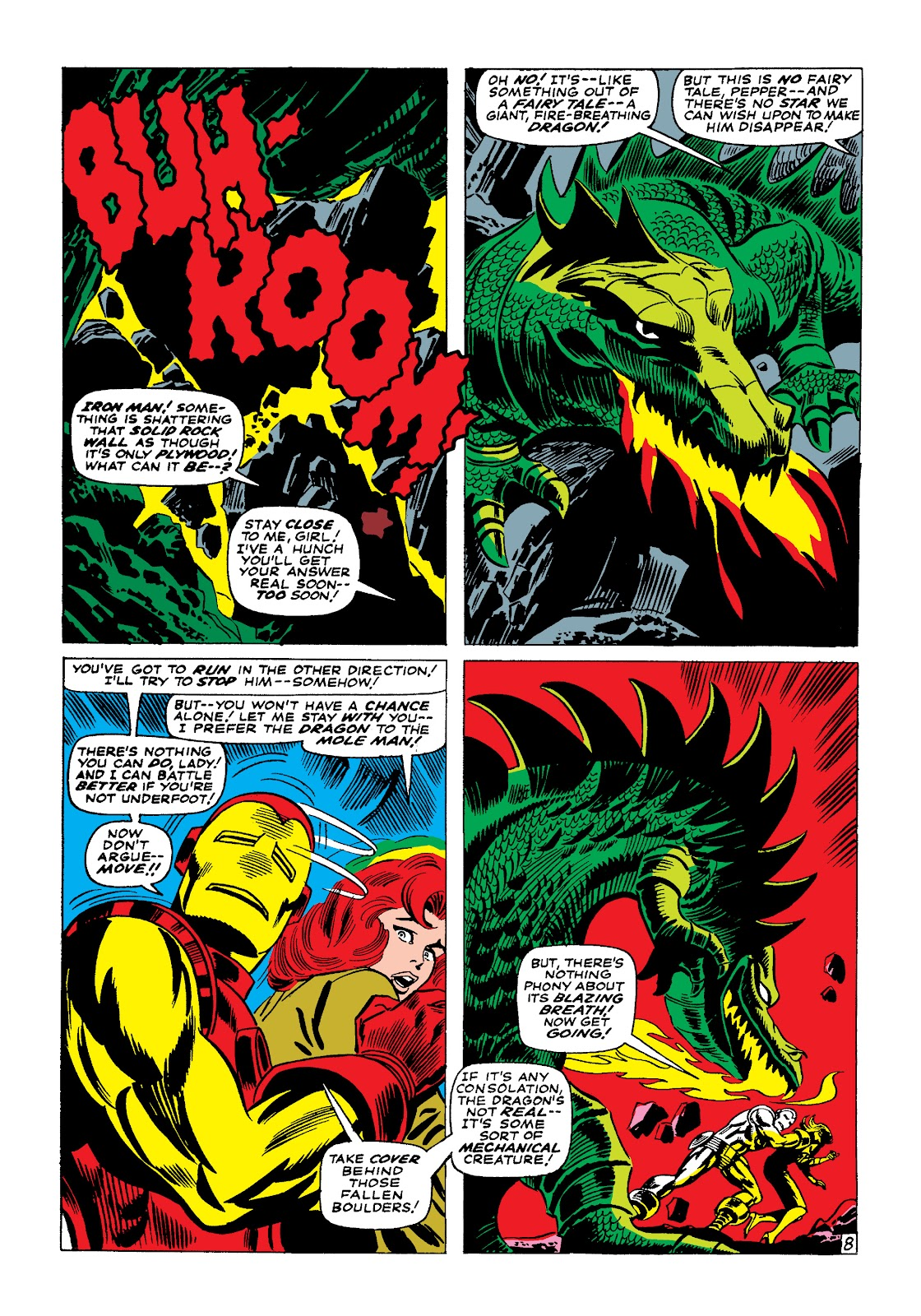 Read online Marvel Masterworks: The Invincible Iron Man comic -  Issue # TPB 4 (Part 1) - 66