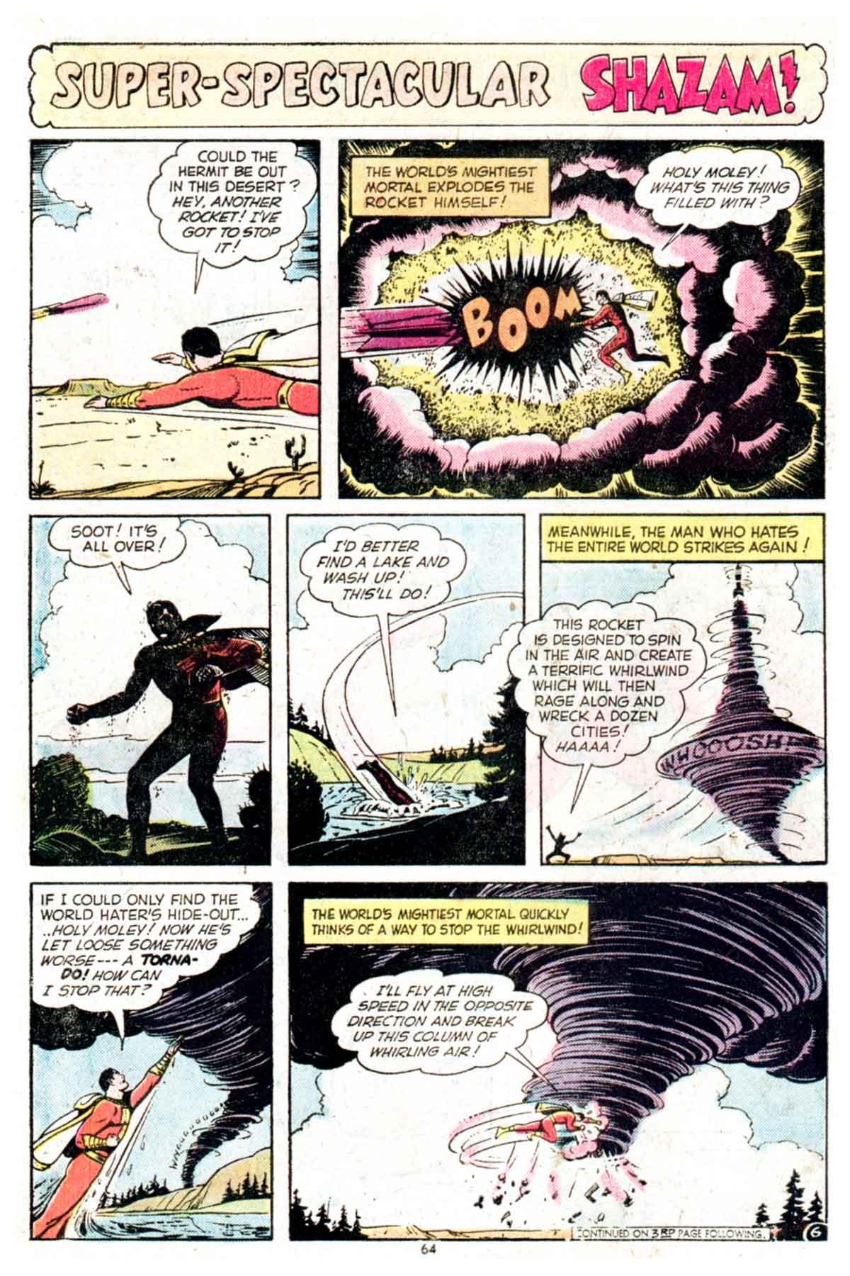 Read online Shazam! (1973) comic -  Issue #16 - 64
