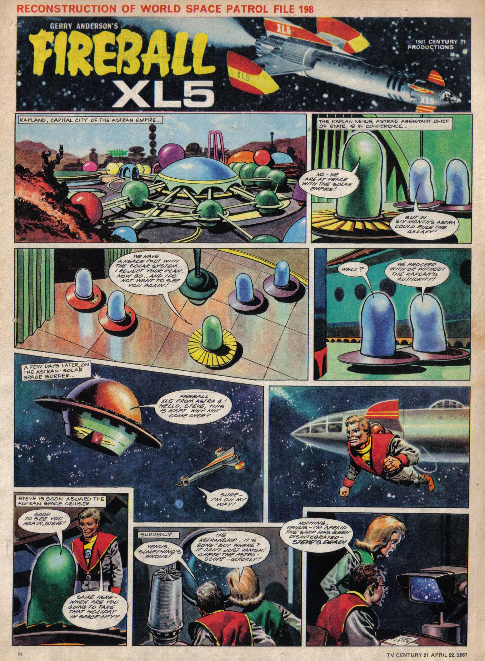 Read online TV Century 21 (TV 21) comic -  Issue #118 - 19