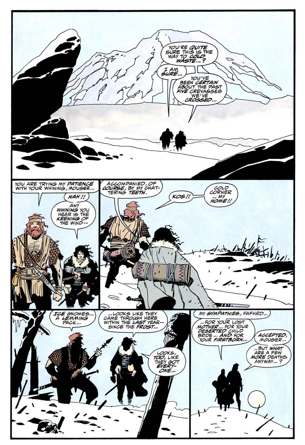 Read online Fafhrd and the Gray Mouser comic -  Issue #2 - 10