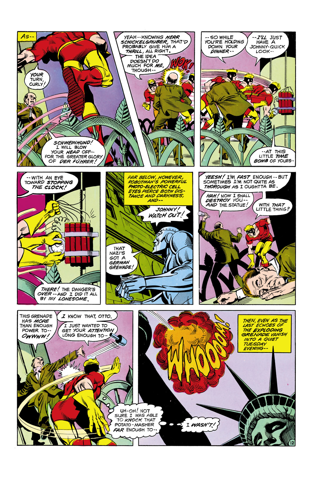 Read online All-Star Squadron comic -  Issue #5 - 13
