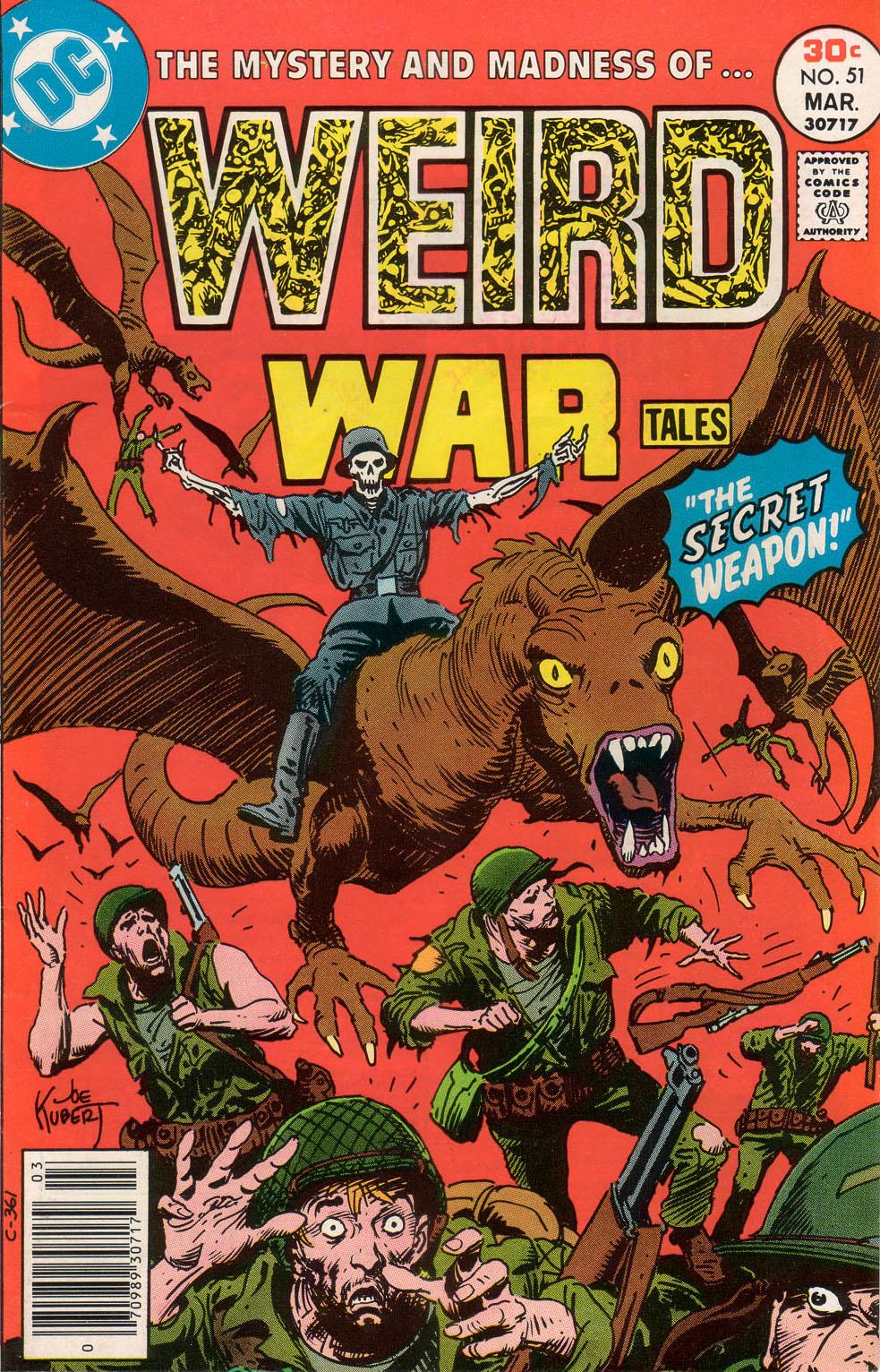 Weird War Tales (1971) issue 51 - Page 1