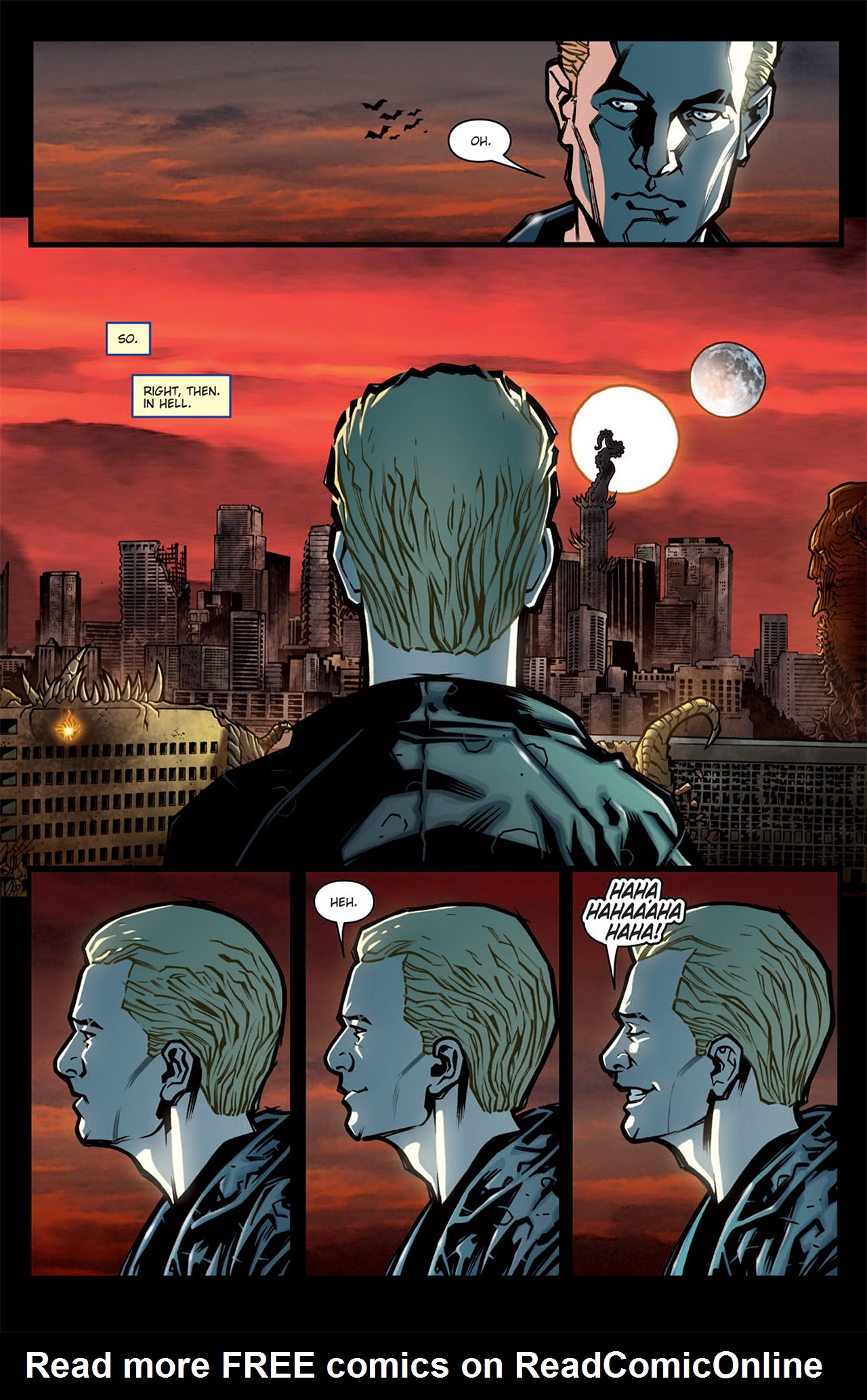 Read online Angel: After The Fall comic -  Issue #6 - 6