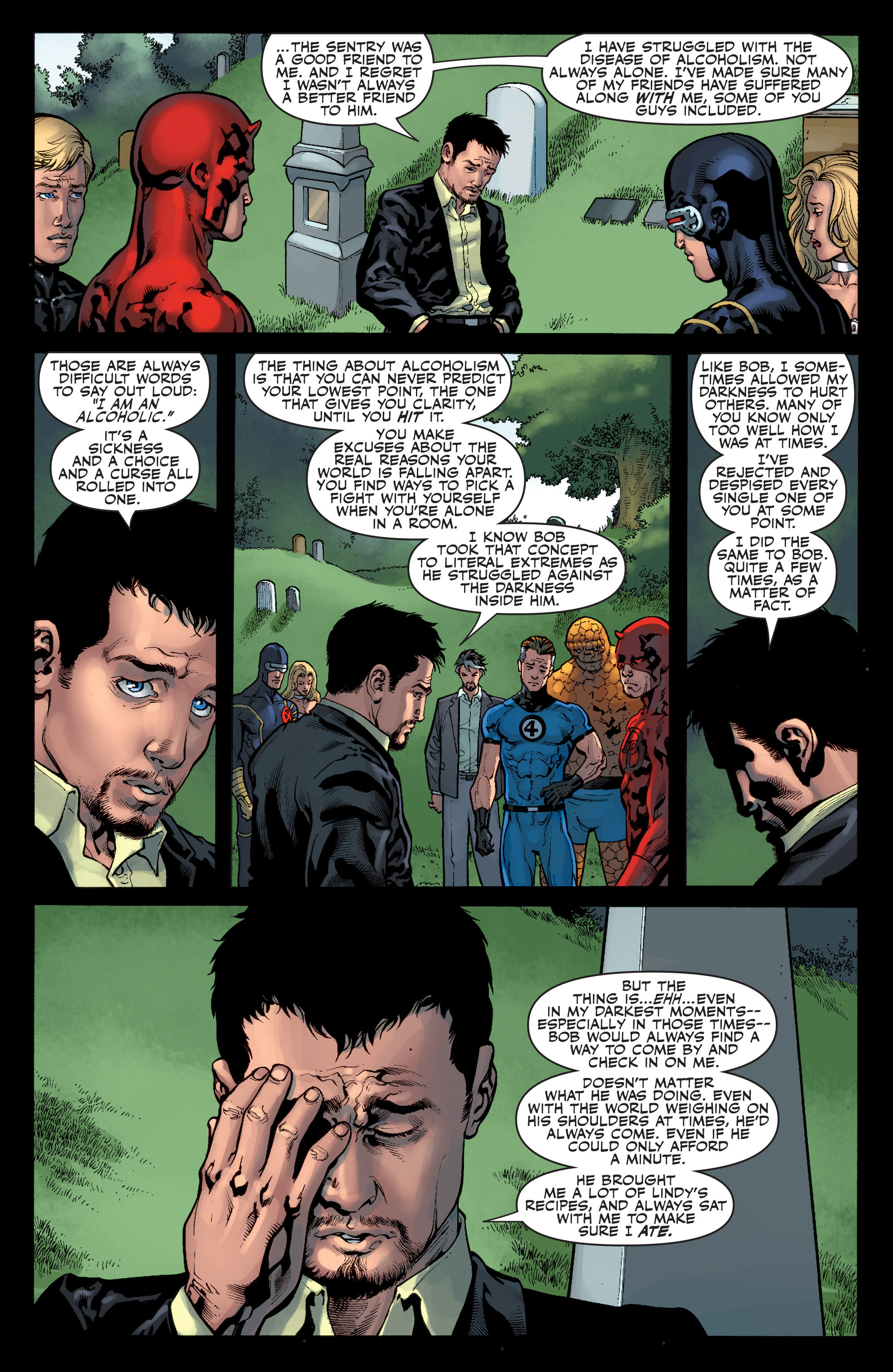 Read online Sentry: Fallen Sun comic -  Issue # Full - 8