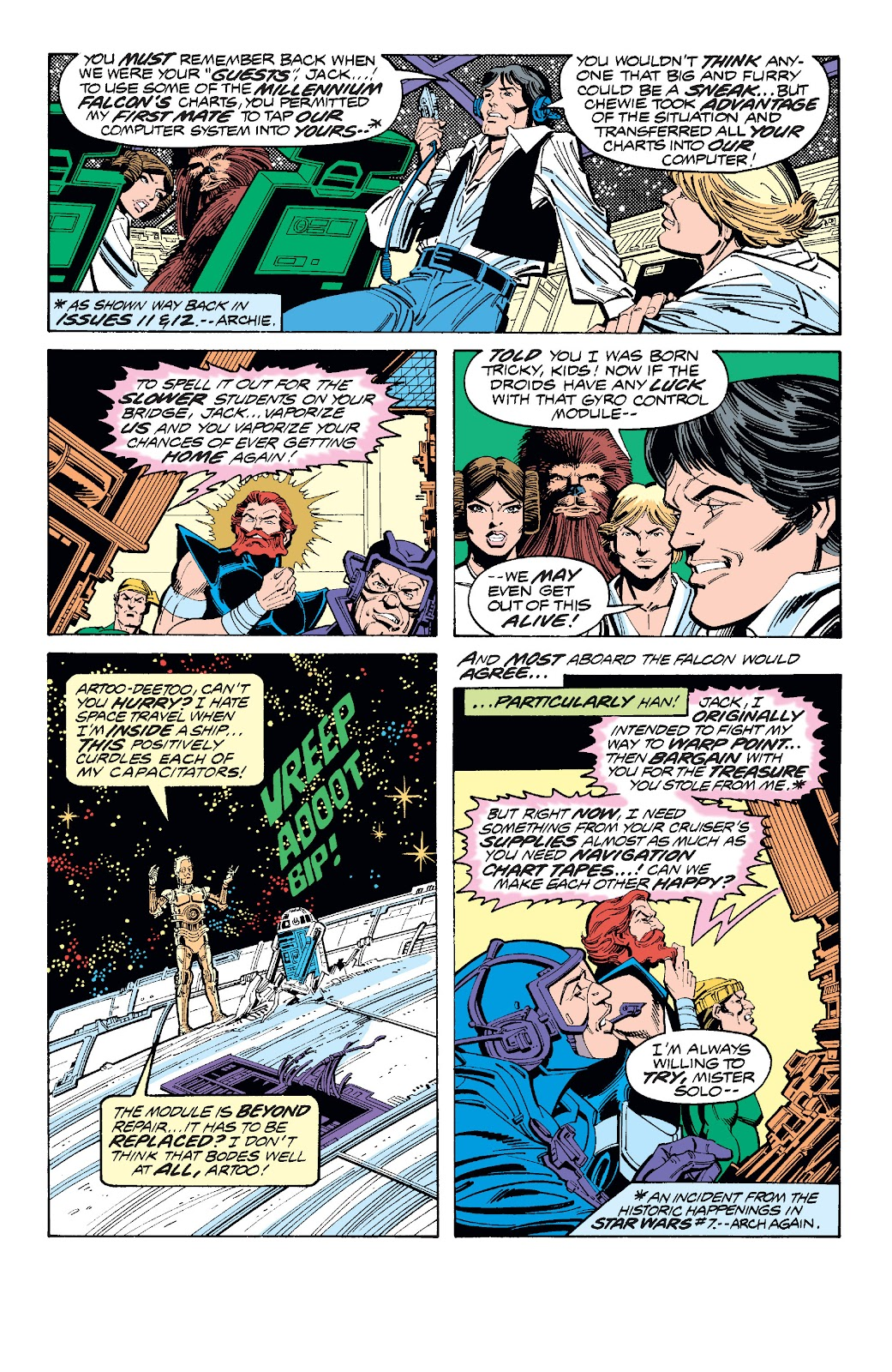 Read online Star Wars Legends: The Original Marvel Years - Epic Collection comic -  Issue # TPB 1 (Part 3) - 74