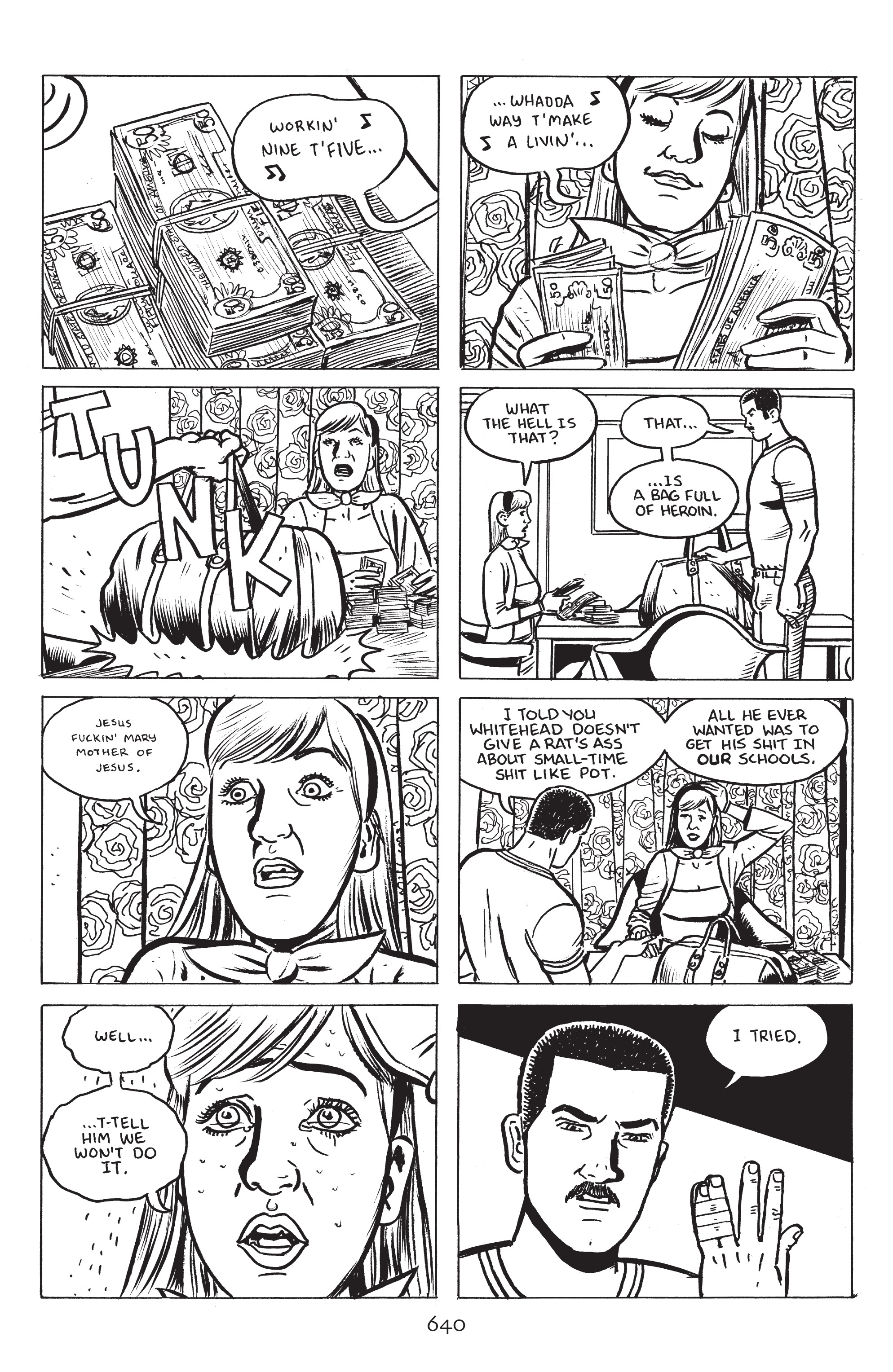 Read online Stray Bullets: Sunshine & Roses comic -  Issue #23 - 23