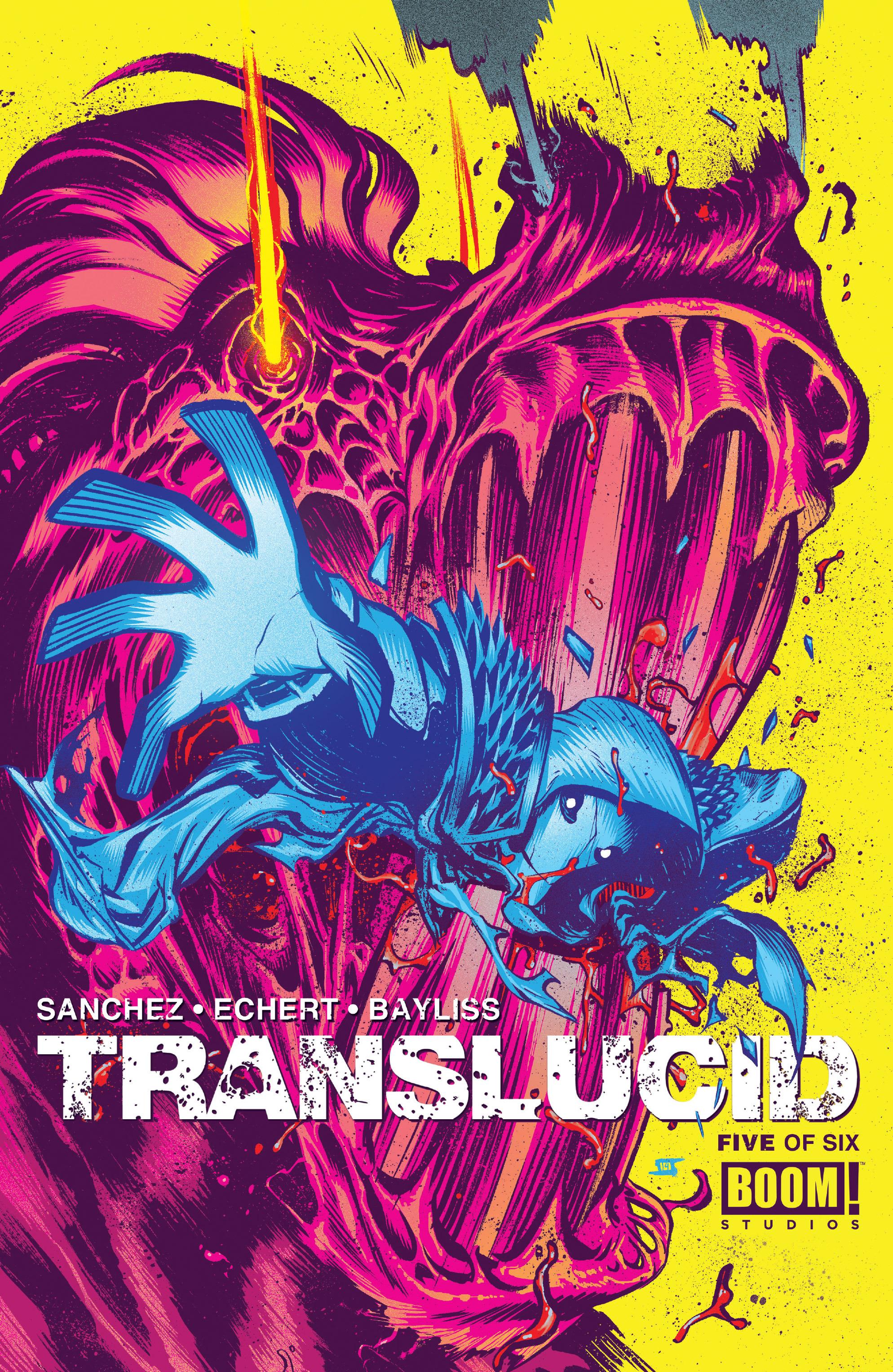 Read online Translucid comic -  Issue #5 - 1