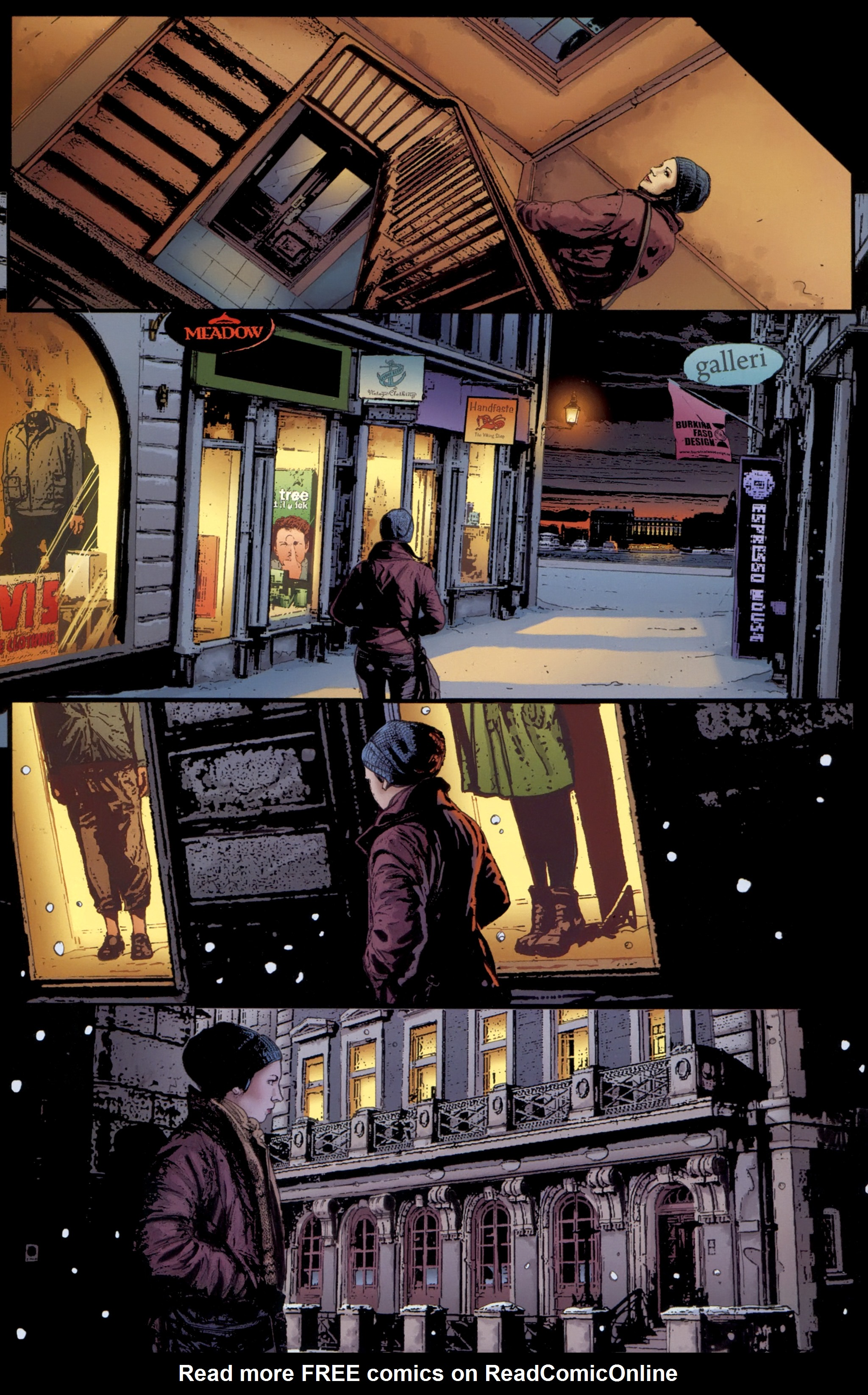 Read online The Girl With the Dragon Tattoo comic -  Issue # TPB 1 - 43