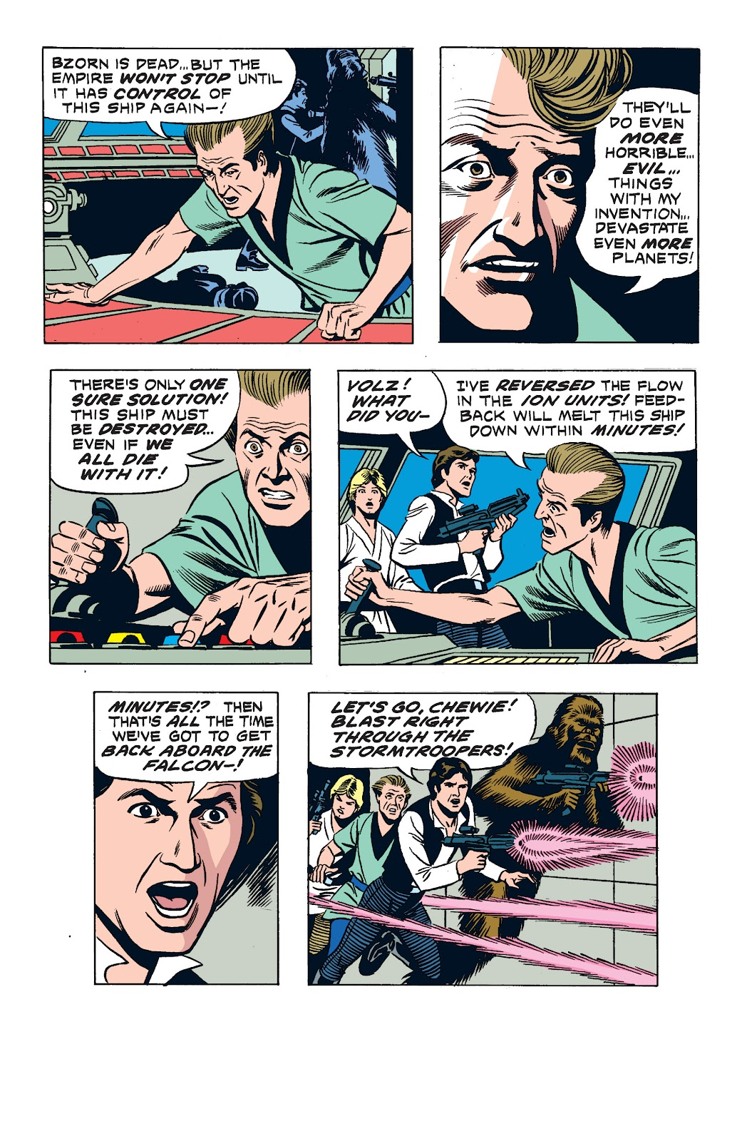 Read online Star Wars Legends: The Newspaper Strips - Epic Collection comic -  Issue # TPB (Part 2) - 99