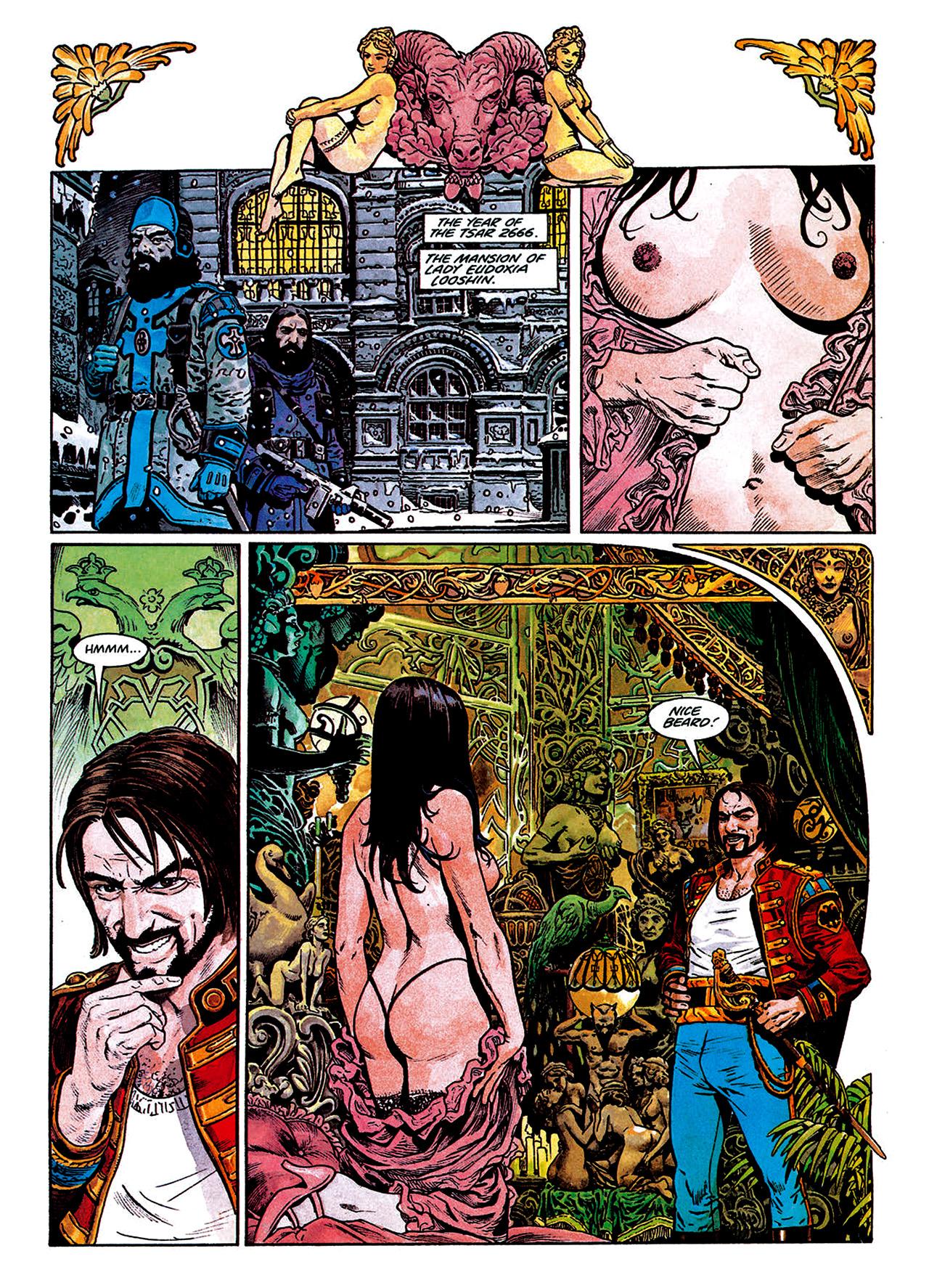 Read online Nikolai Dante comic -  Issue # TPB 1 - 94